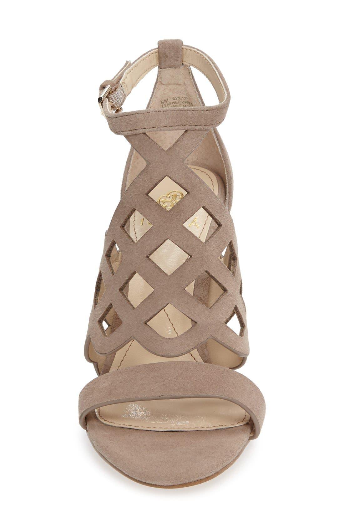 Alternate Image 3  - Isolá Despina Cutout Ankle Strap Sandal (Women)