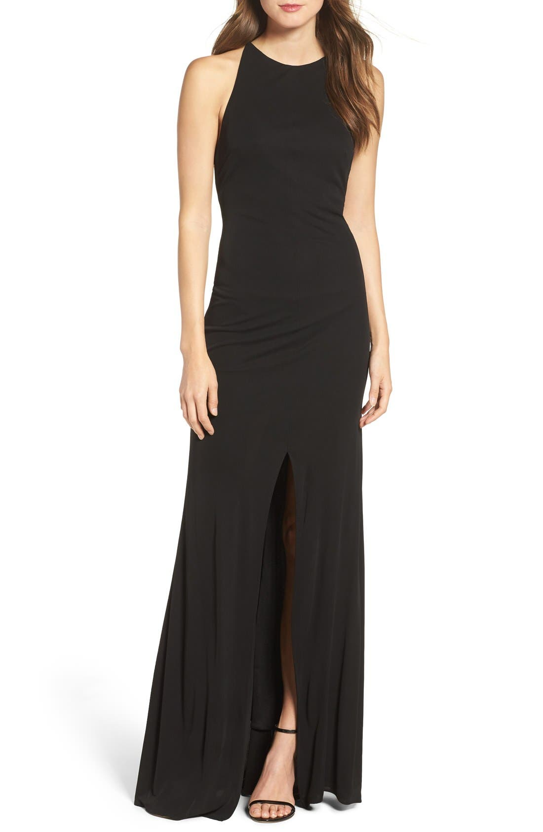 Alternate Image 1 Selected - Maria Bianca Nero Victoria Sleeveless Gown