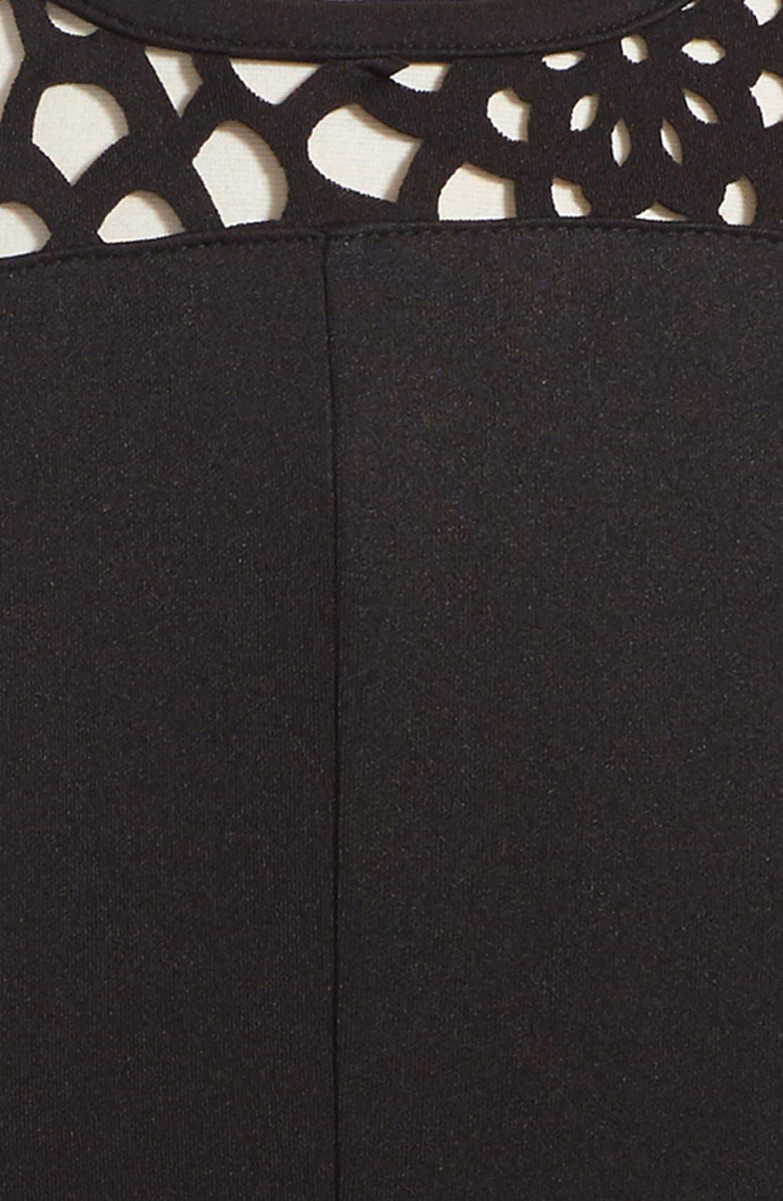 Alternate Image 3  - Ten Sixty Sherman Cap Sleeve Dress (Big Girls)