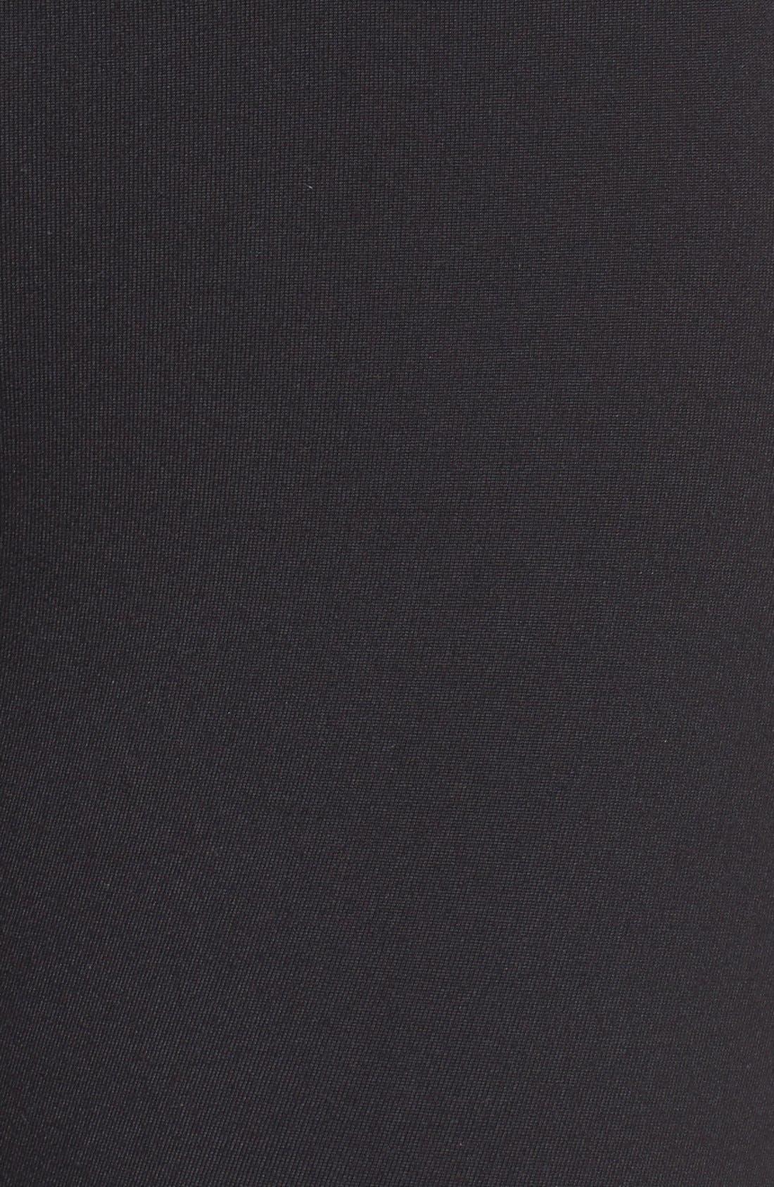 'Bardot' High Waist Leggings,                             Alternate thumbnail 6, color,                             Black