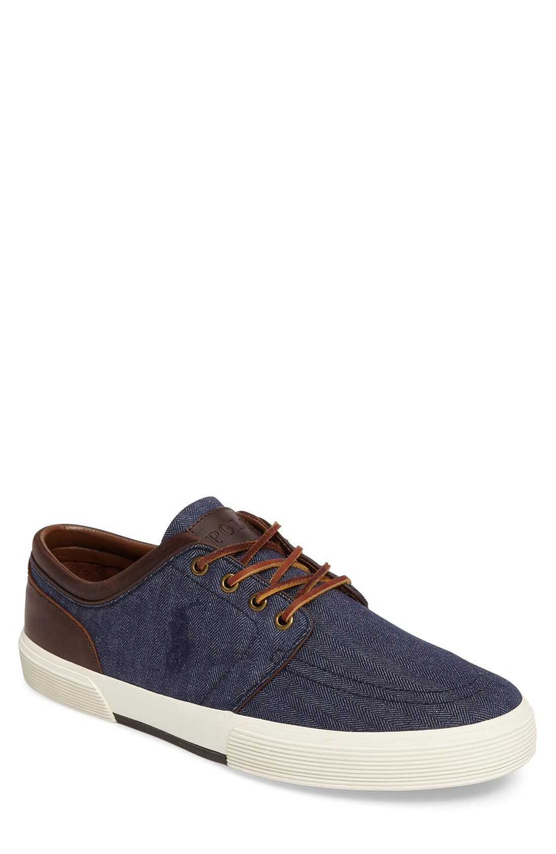 Alternate Image 1 Selected - Polo Ralph Lauren 'Faxon Low' Sneaker (Men)