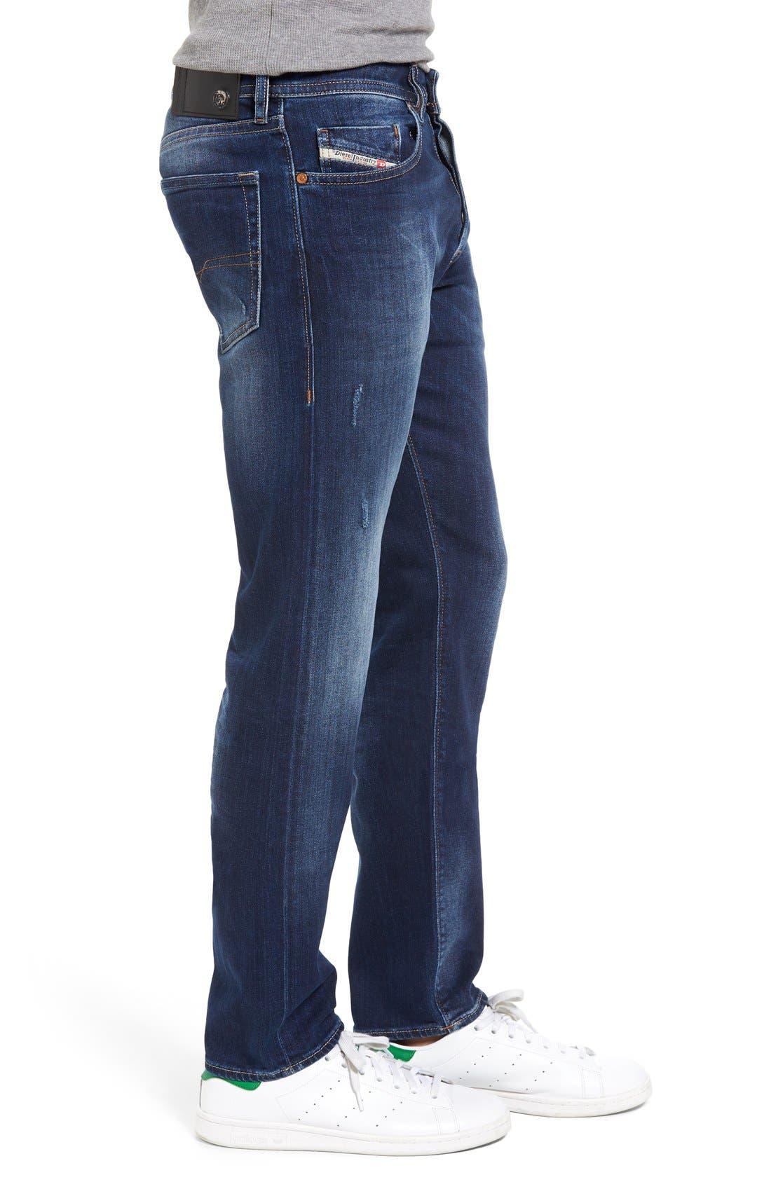 Alternate Image 3  - DIESEL® Buster Slim Straight Leg Jeans (860L)
