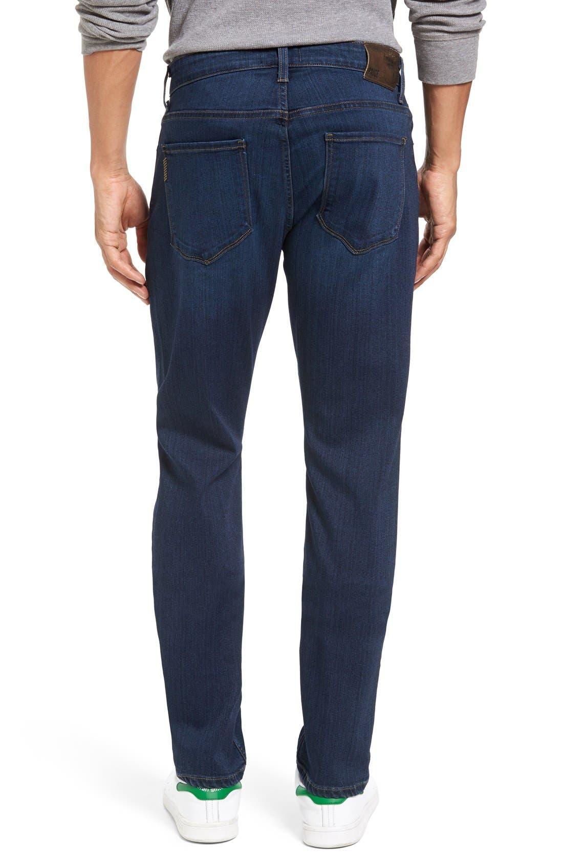 Alternate Image 2  - PAIGE Transcend - Federal Slim Straight Leg Jeans (Scott)