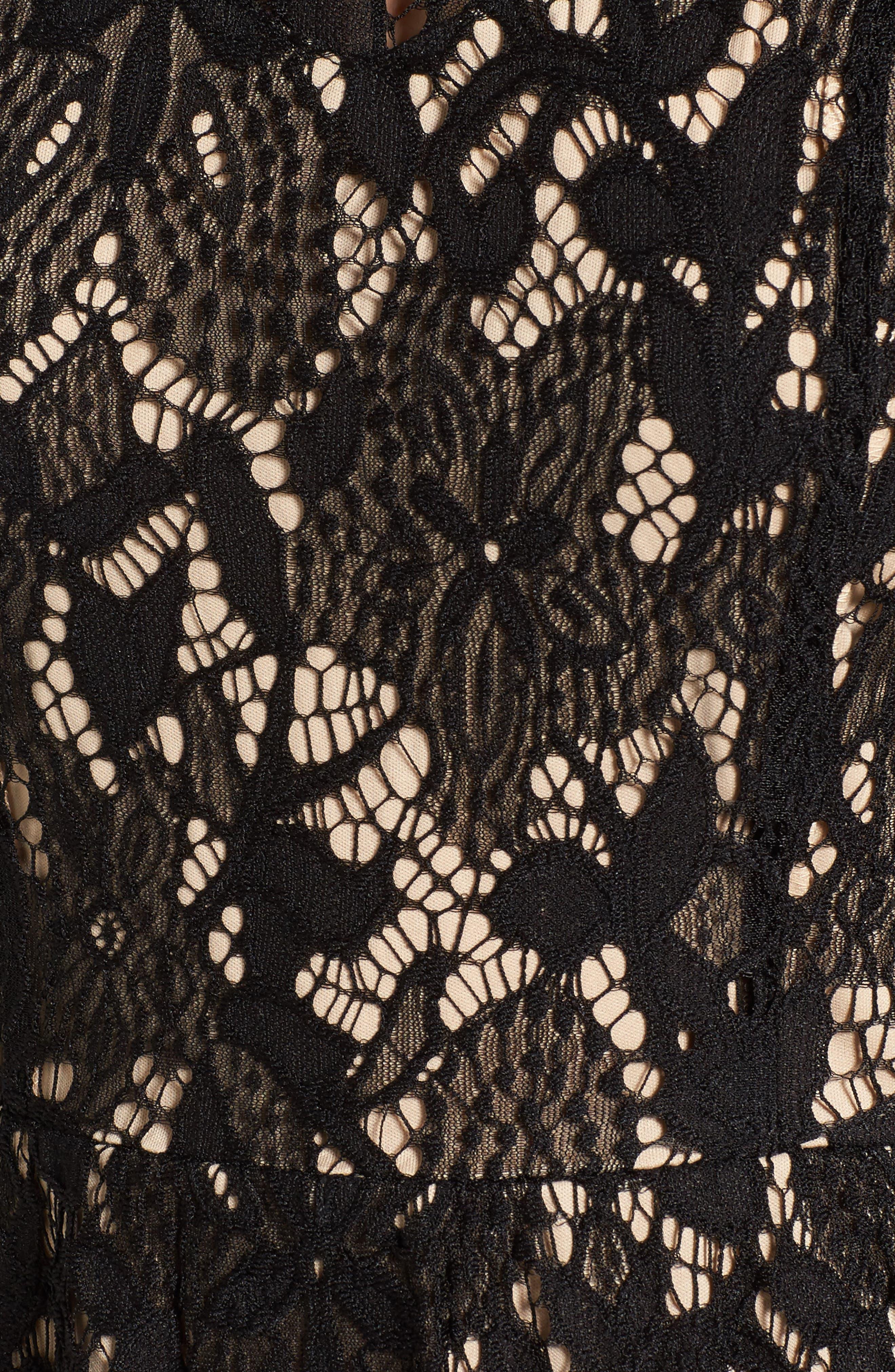 Alternate Image 5  - Love, Fire Lace Dress