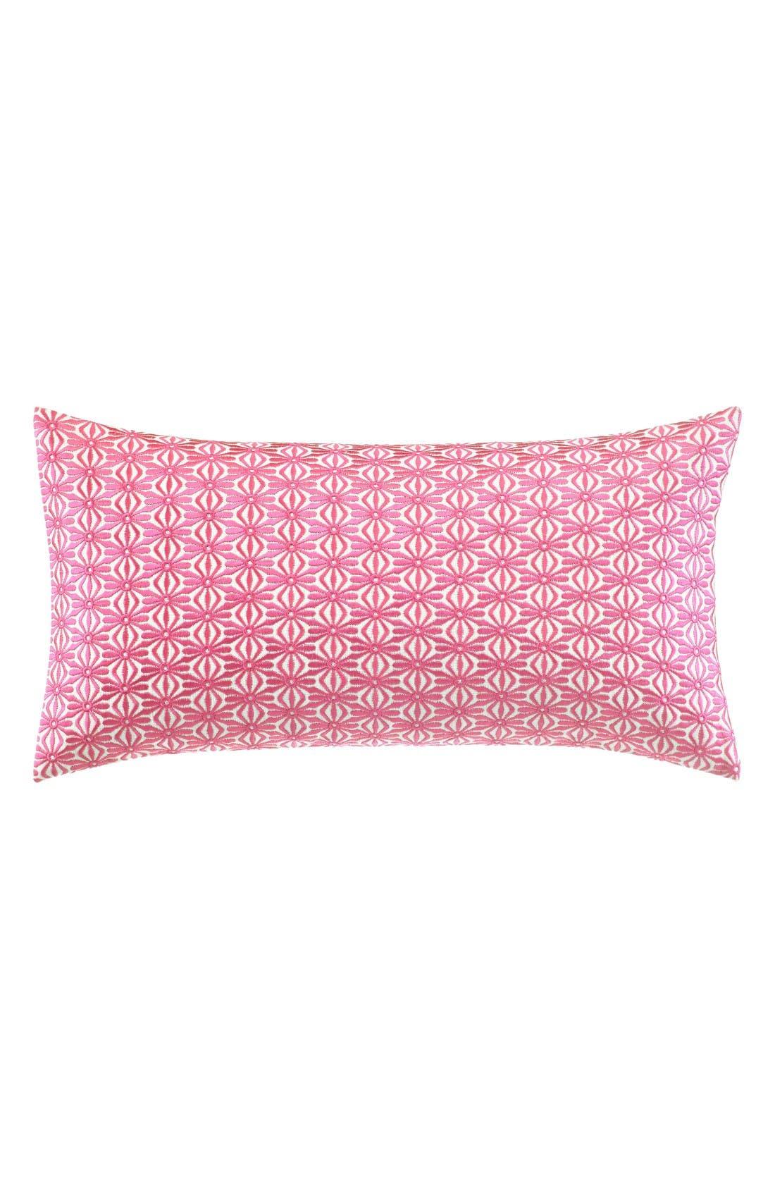 medallion accent pillow,                             Main thumbnail 1, color,                             Pink
