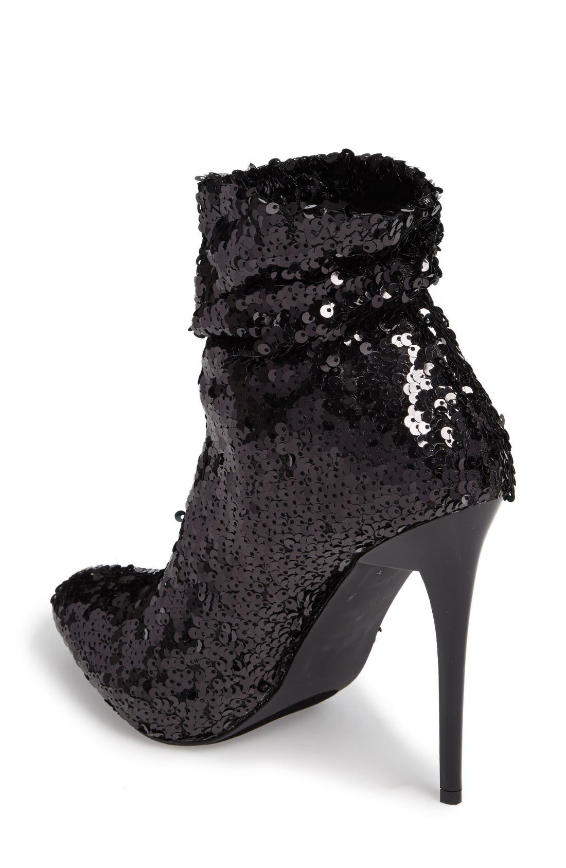 Alternate Image 2  - Lauren Lorraine Quannah Sequin Bootie (Women)
