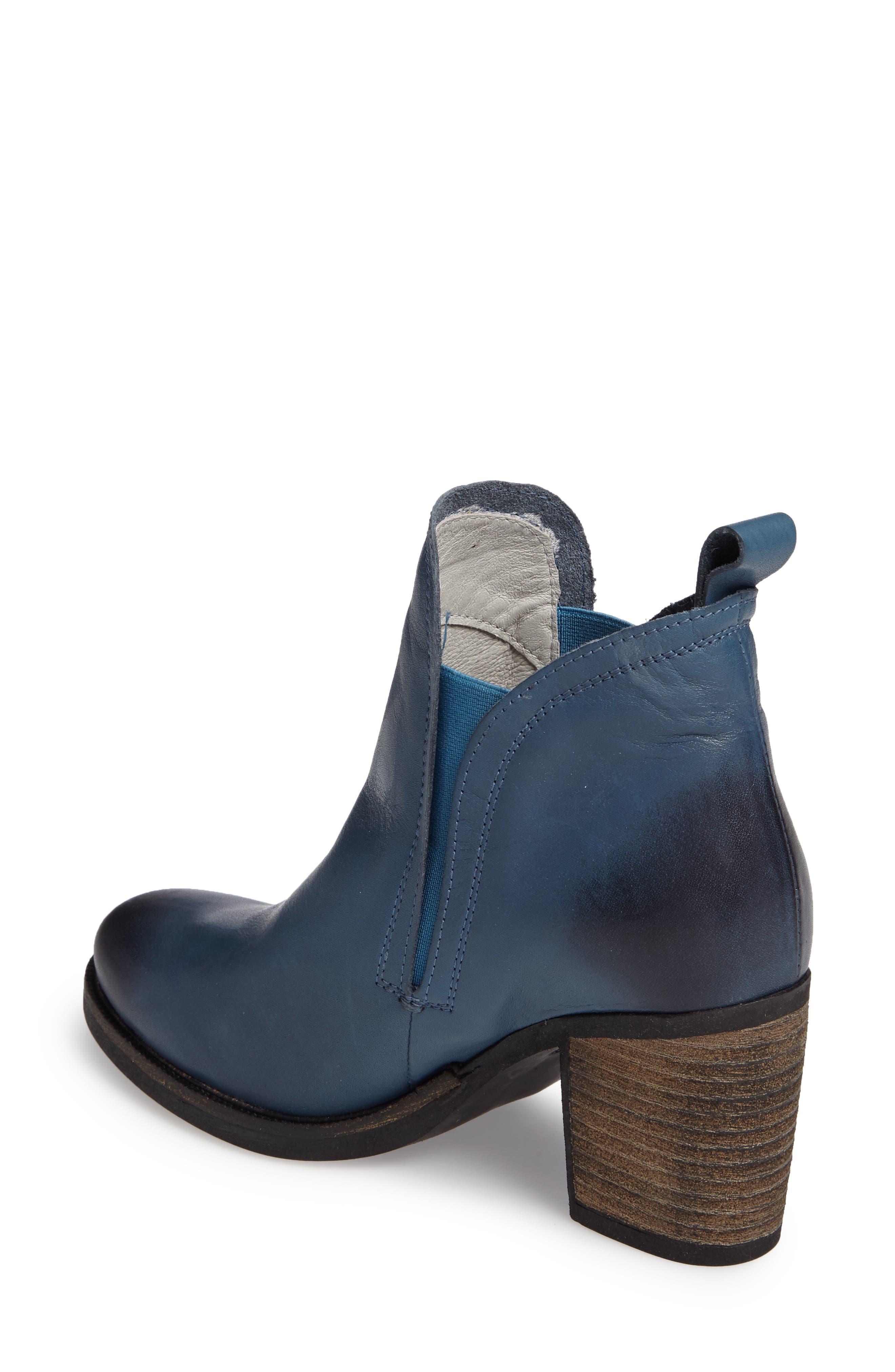 Belfielding Waterproof Chelsea Boot,                             Alternate thumbnail 2, color,                             Jeans/ Black Leather