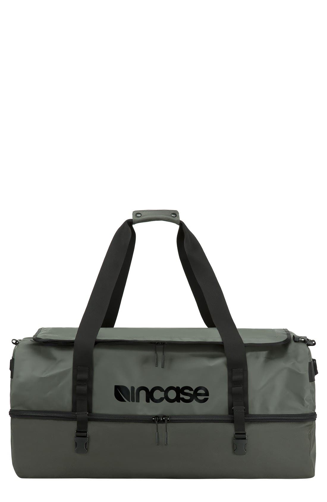 TRACTO Small Split Convertible Duffel Bag,                         Main,                         color, Anthracite