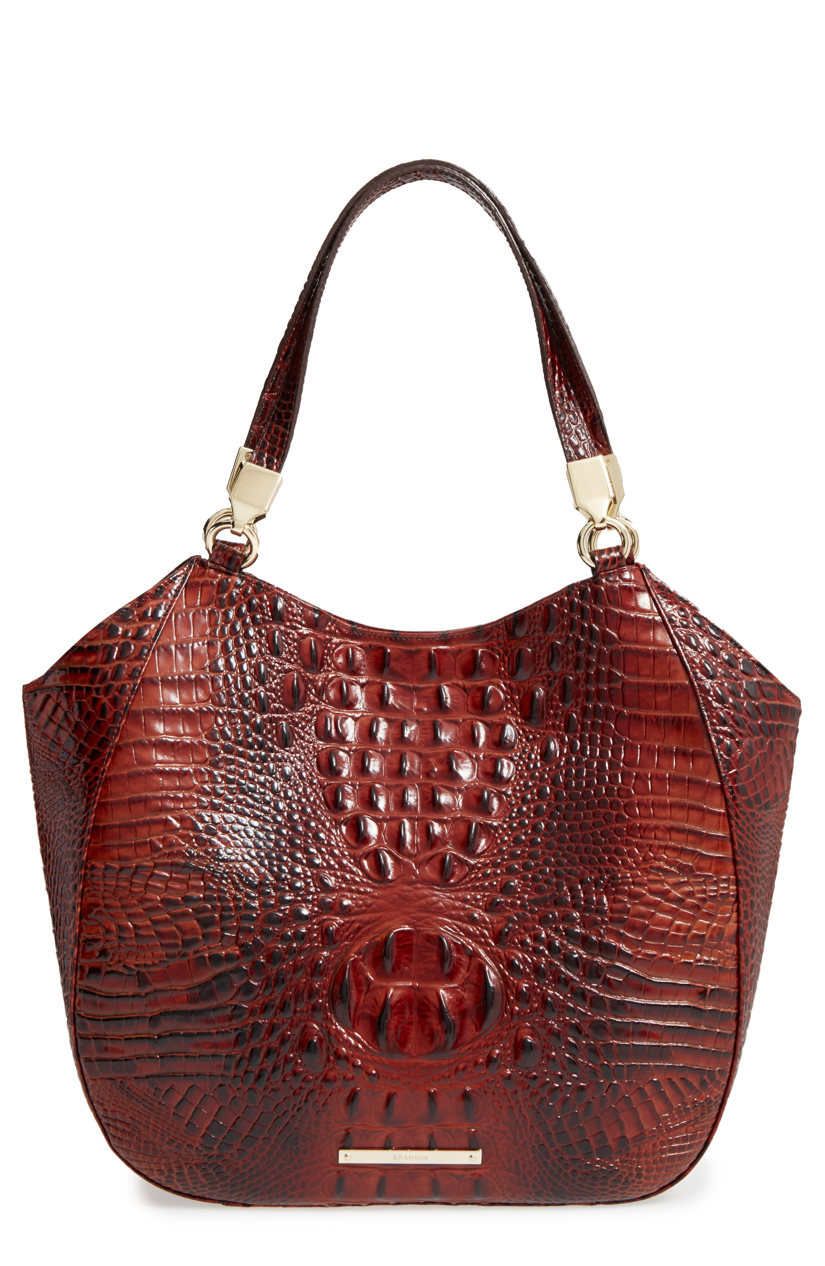 Brahmin Melbourne Marianna Leather Tote