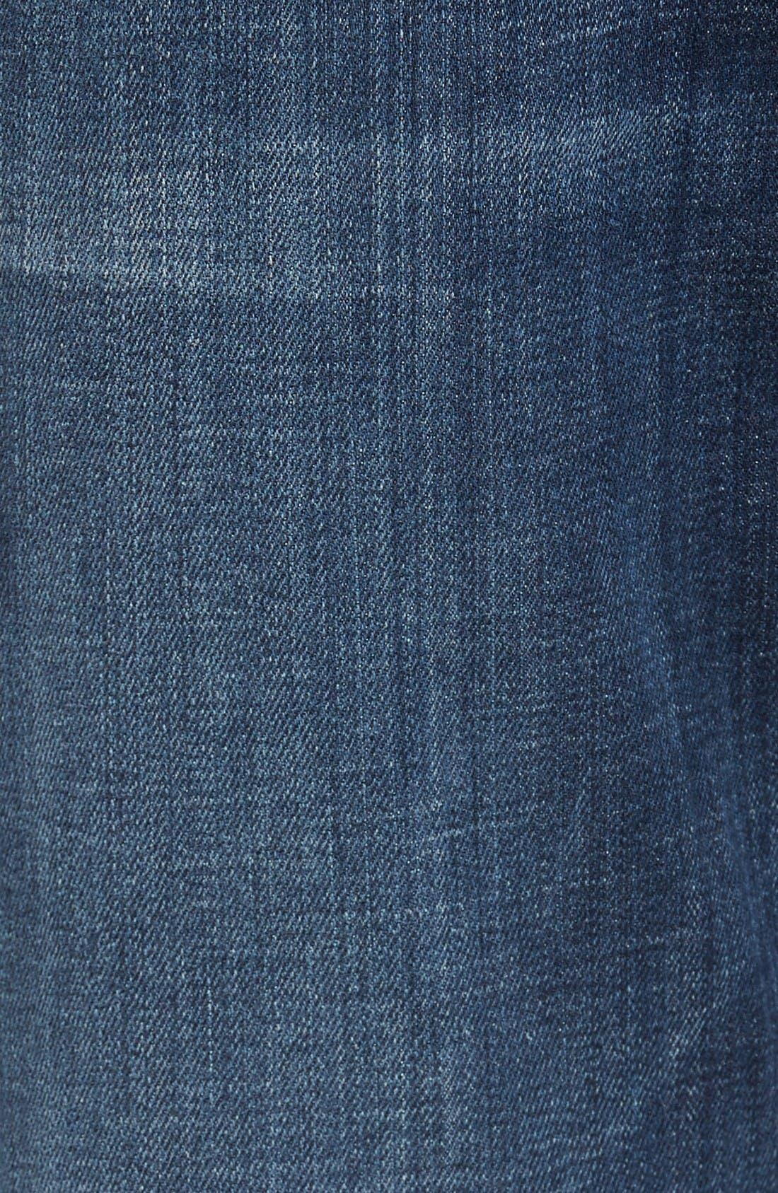 Alternate Image 5  - Hudson Jeans Byron Slim Straight Leg Jean (Harris)