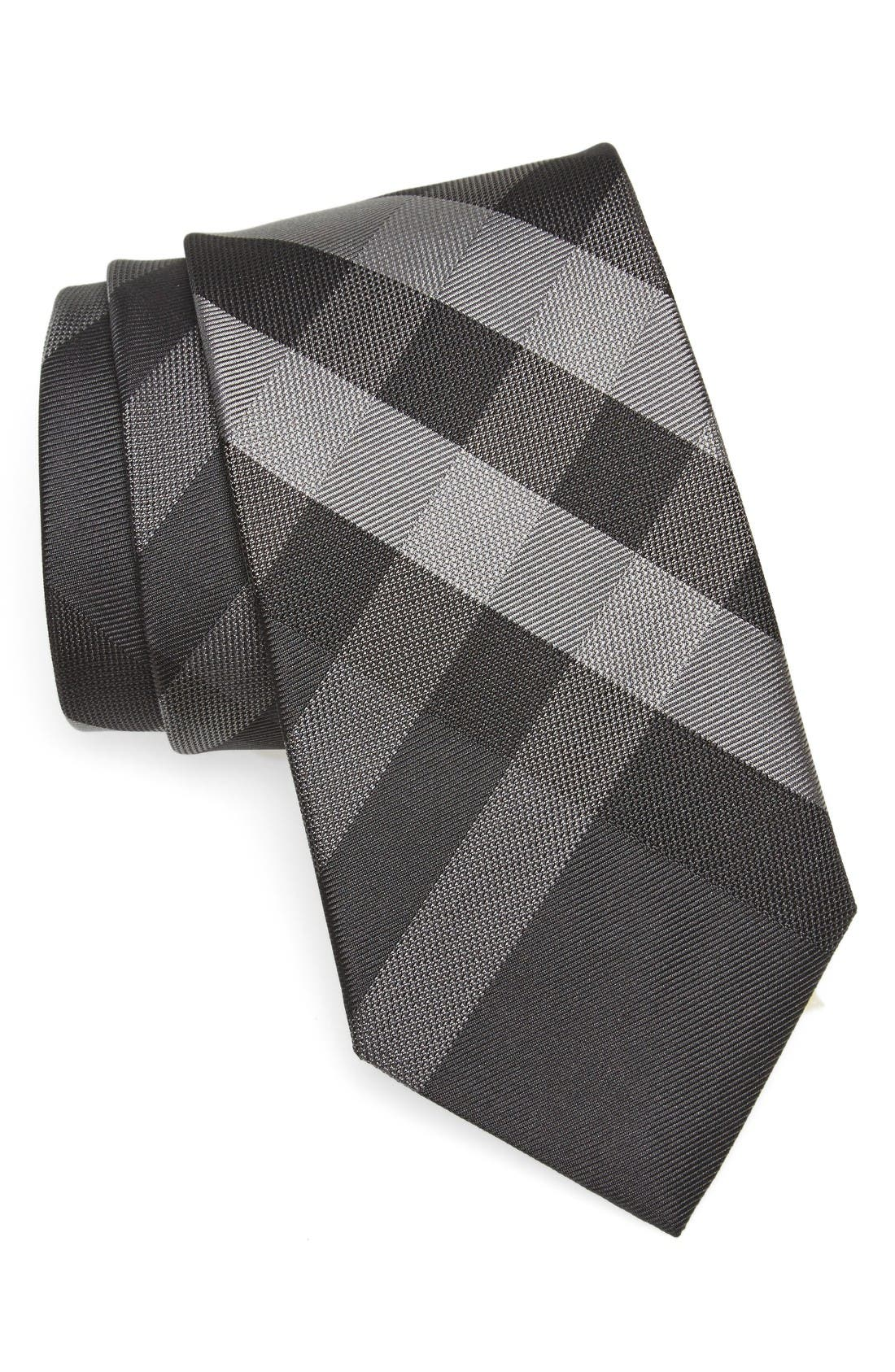 Main Image - Burberry Clinton Check Silk Tie