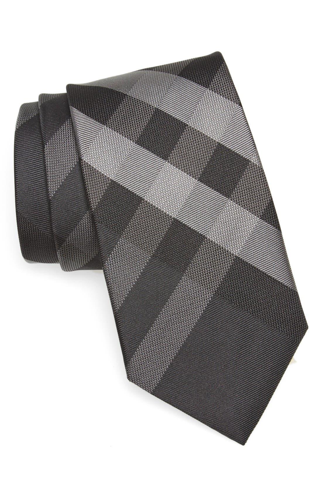 Burberry Clinton Check Silk Tie