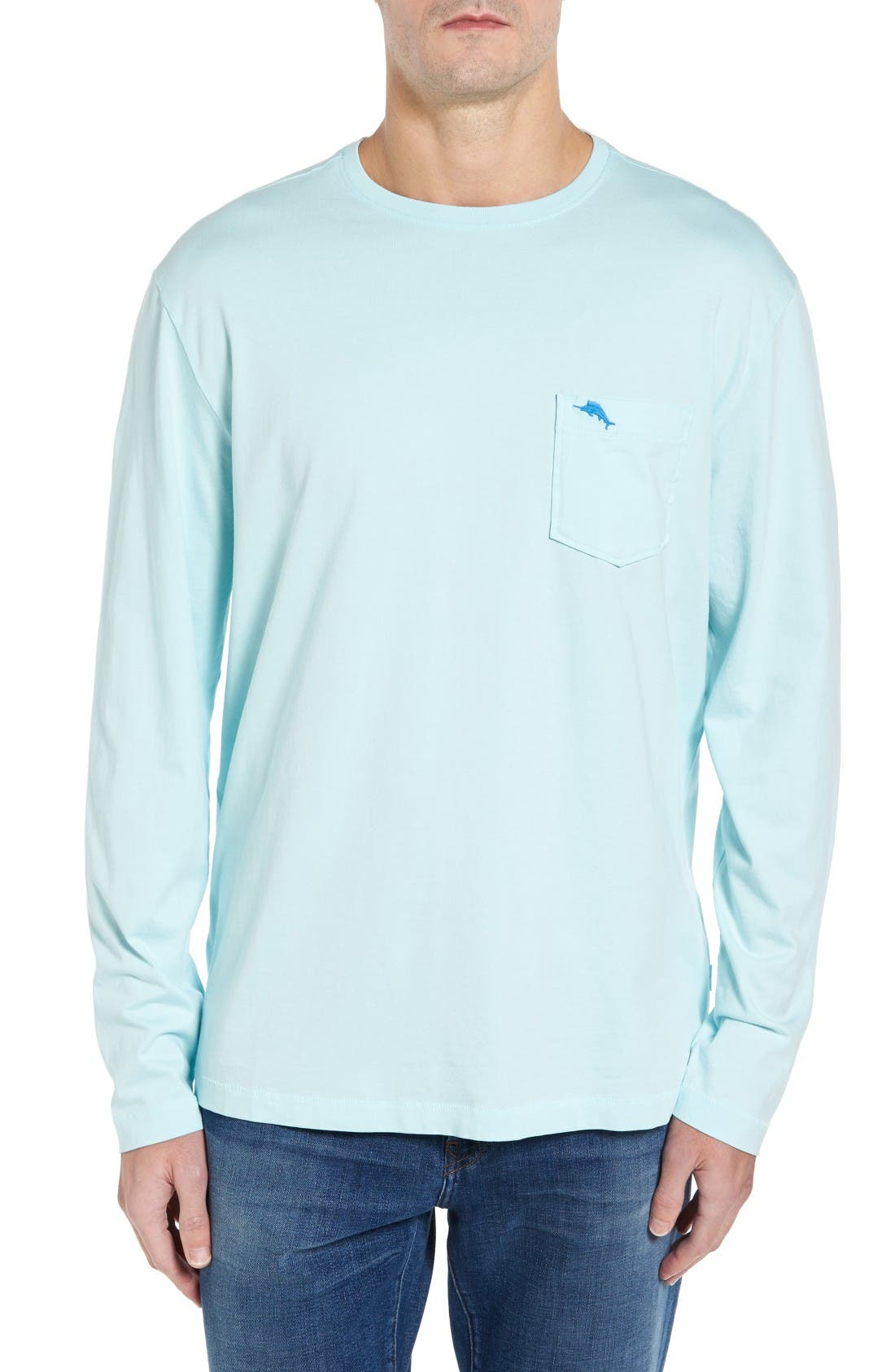 TOMMY BAHAMA Bali Skyline Long Sleeve Pima Cotton T-Shirt