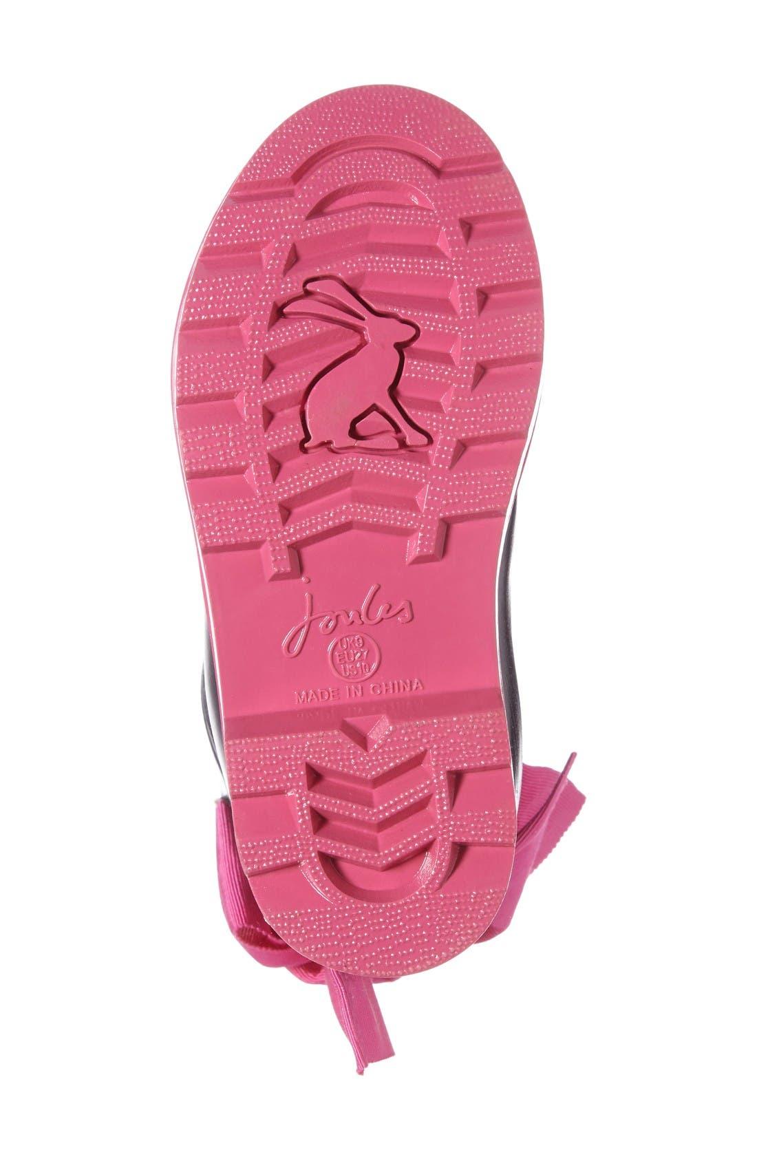 Alternate Image 4  - Joules Evedon Rain Boot (Walker, Toddler, Little Kid & Big Kid)