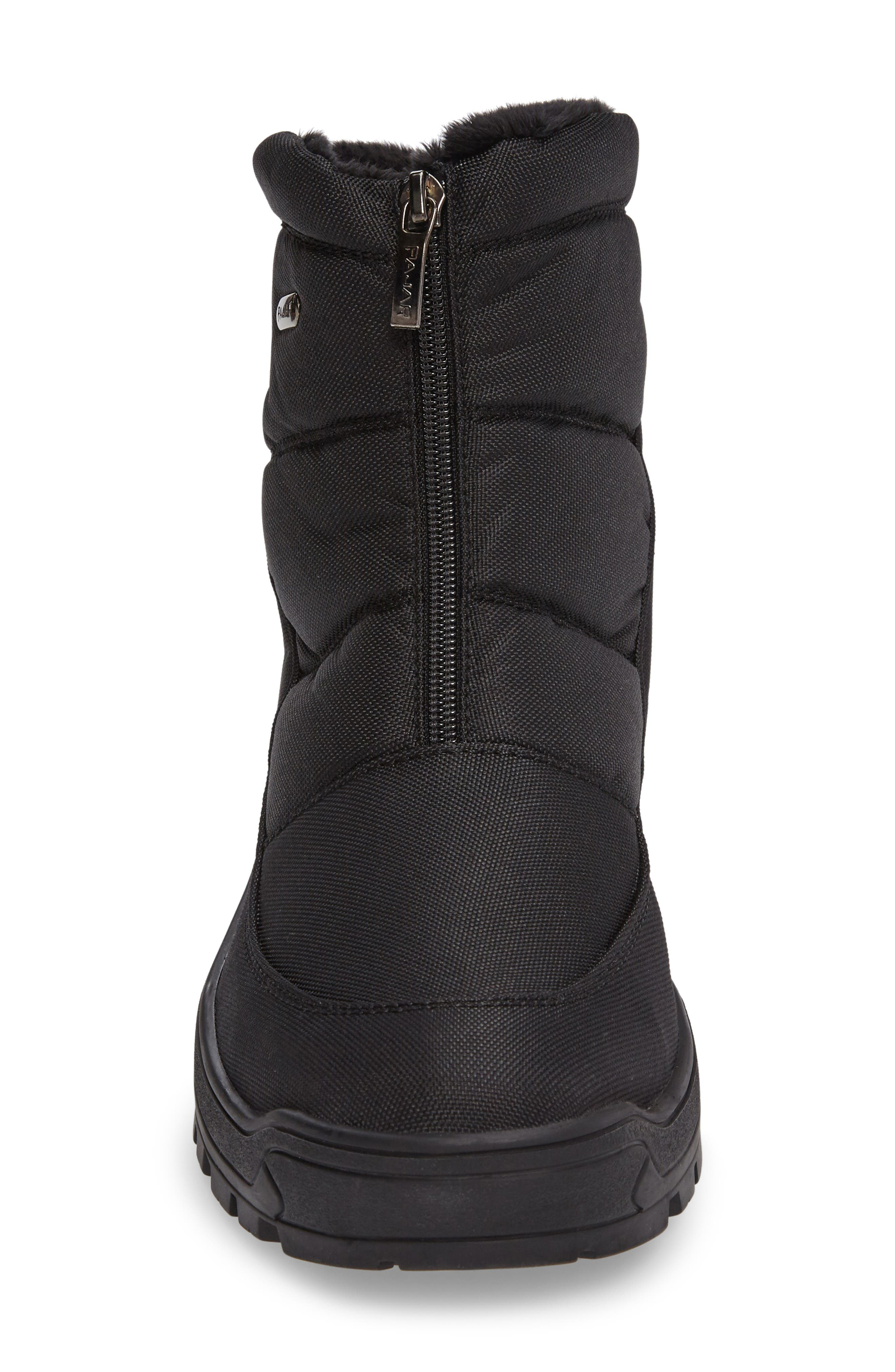 Icepack Boot with Faux Fur Lining,                             Alternate thumbnail 3, color,                             Black