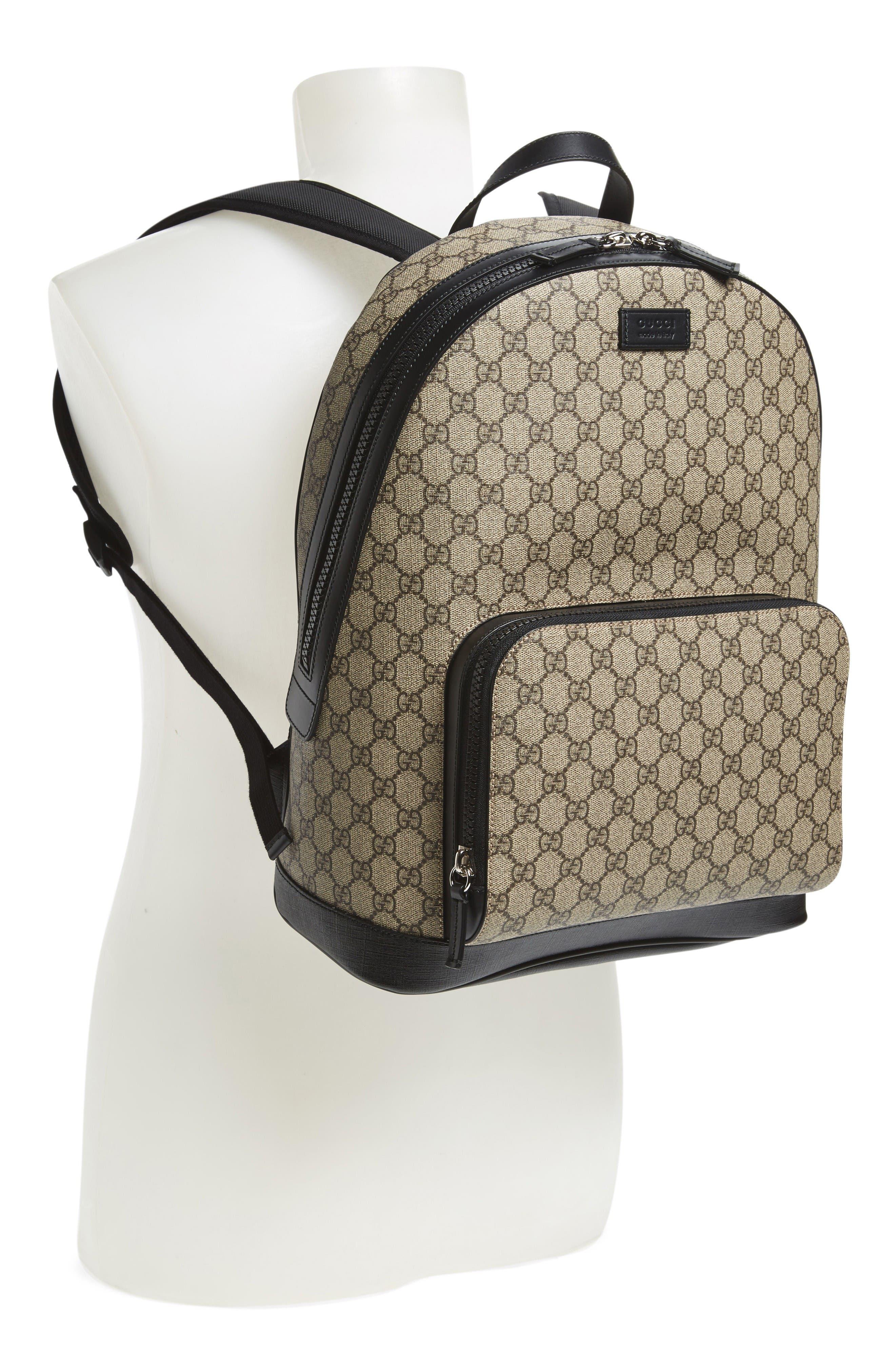 Alternate Image 2  - Gucci Eden Canvas Backpack