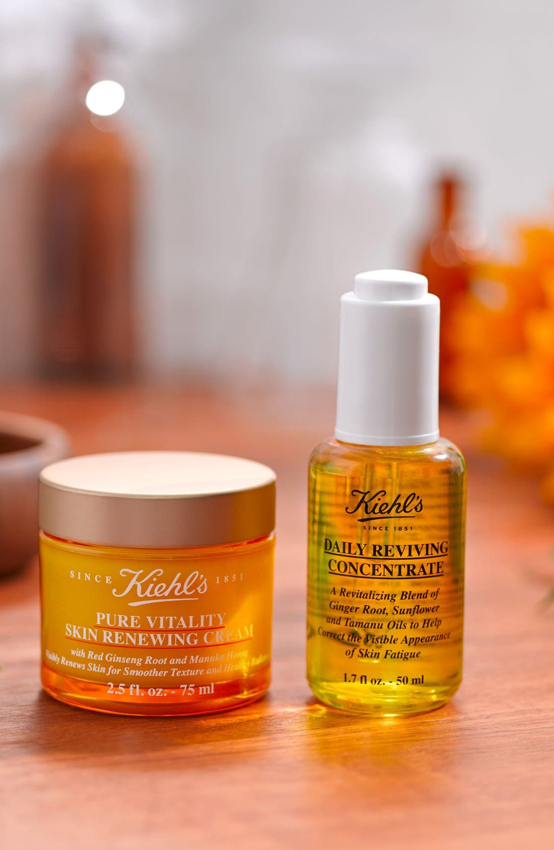 Alternate Image 2  - Kiehl's Since 1851 Pure Vitality Skin Renewing Cream