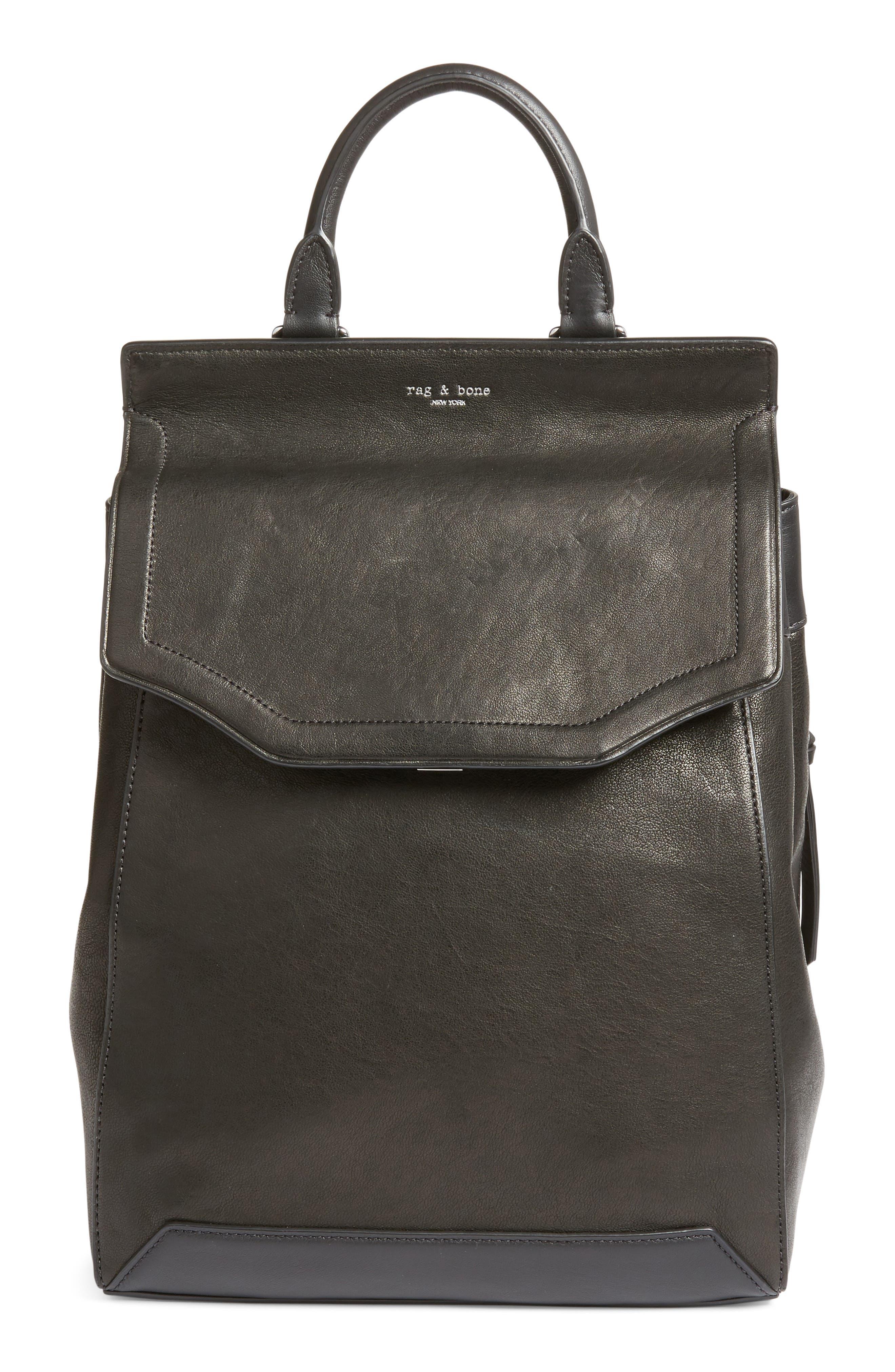 rag & bone Pilot II Leather Backpack