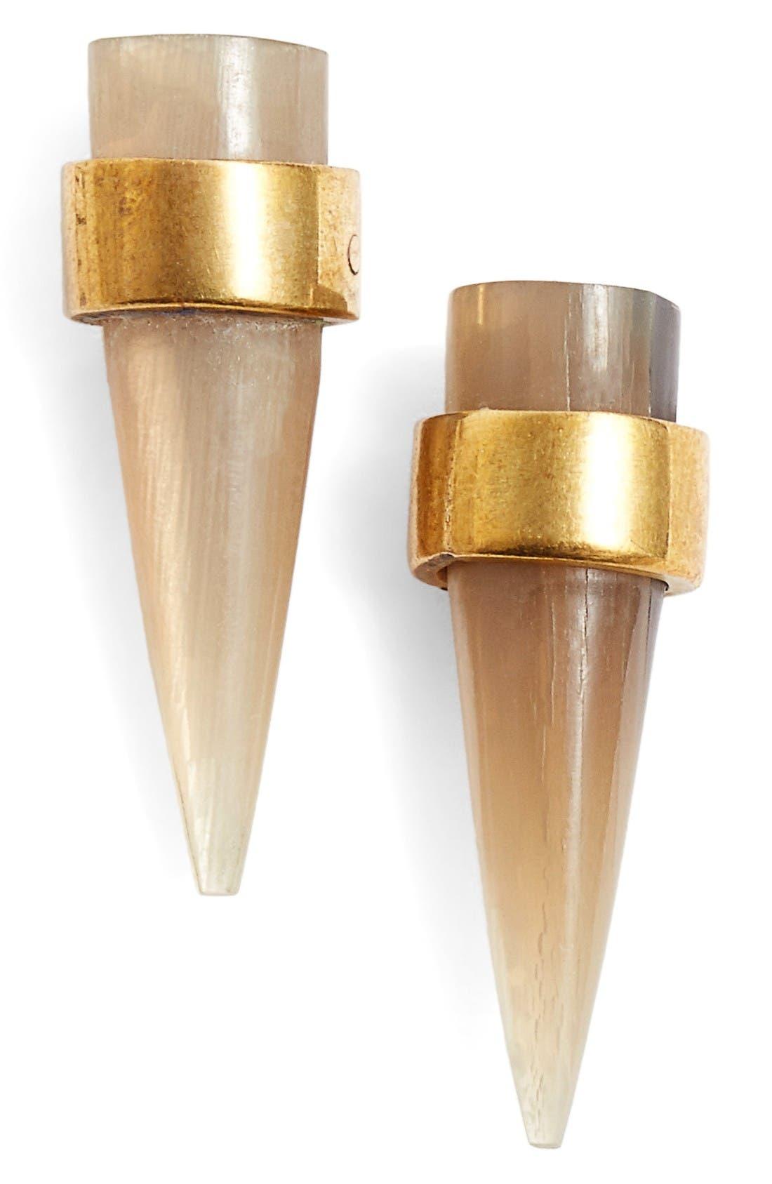 Kili Stud Earrings,                         Main,                         color, Natural