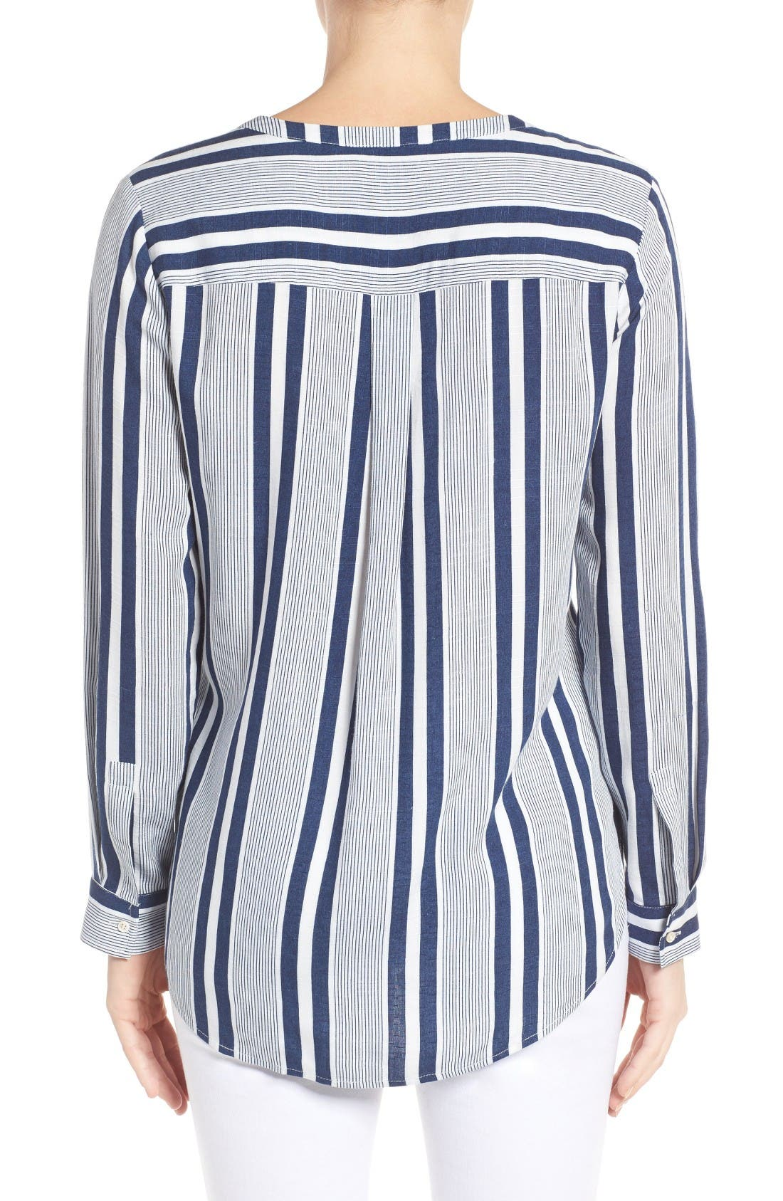 Alternate Image 3  - Two by Vince Camuto Stripe Blouse
