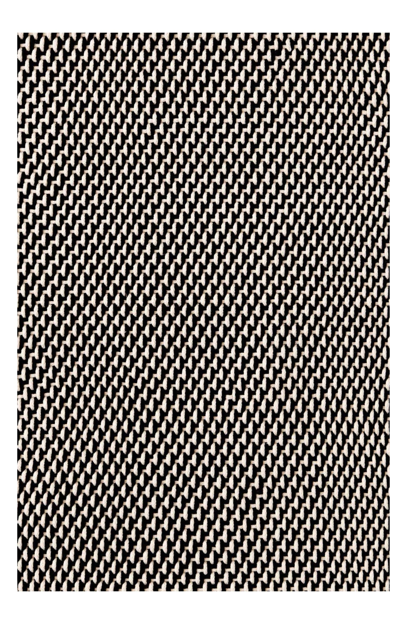 Woven Rope Rug,                             Main thumbnail 1, color,                             Black