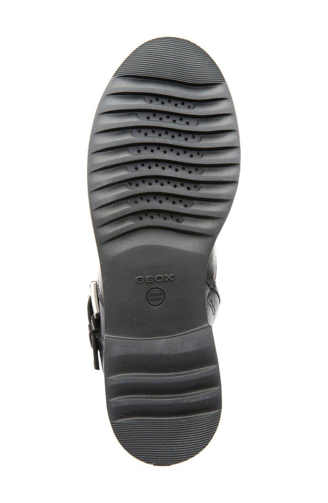 Alternate Image 4  - Geox Rayssa Moto Boot (Women)