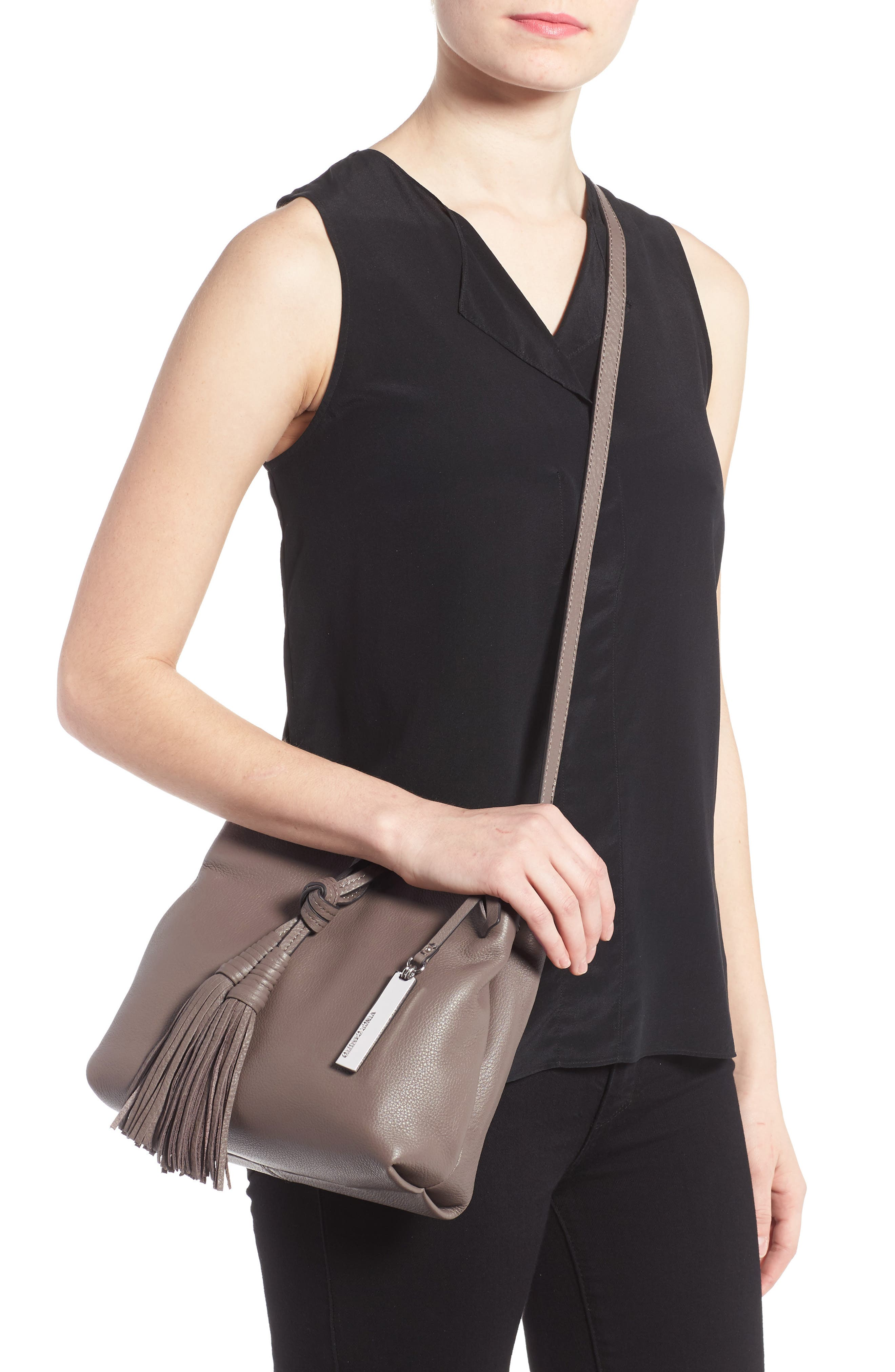 Alternate Image 2  - Vince Camuto Taro Leather Crossbody Bag
