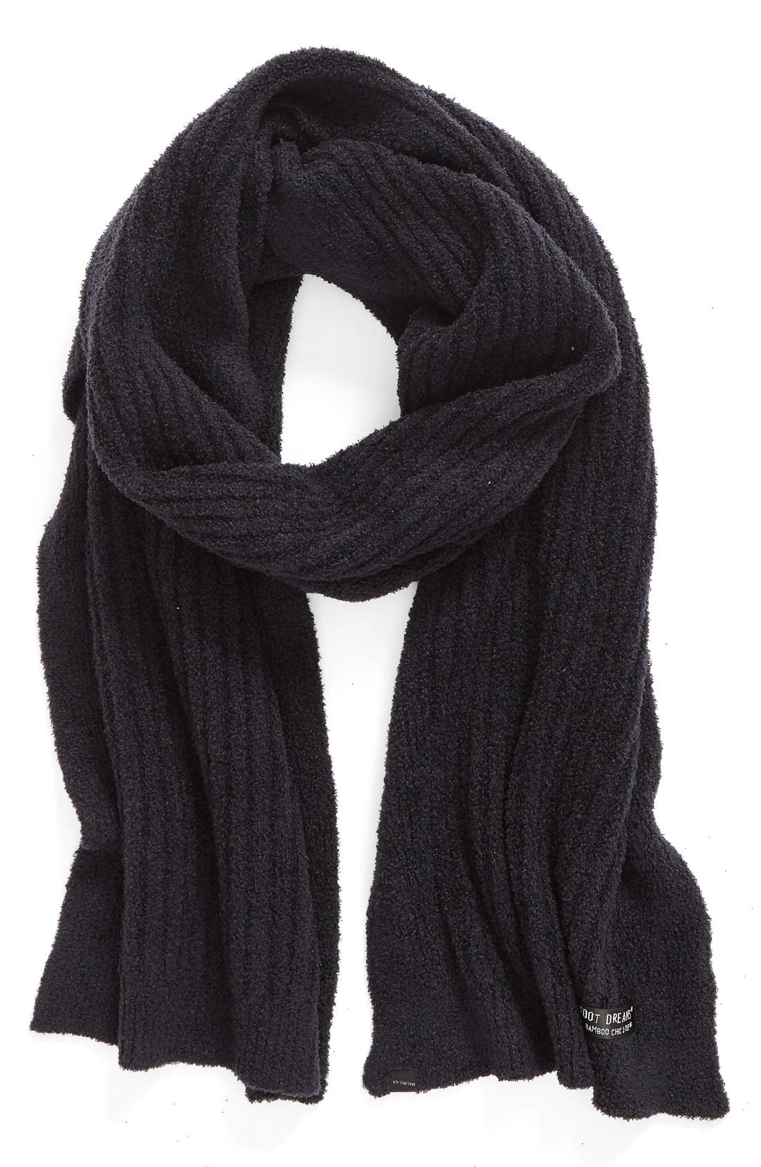 Alternate Image 1 Selected - Barefoot Dreams® CozyChic Lite® Ribbed Scarf