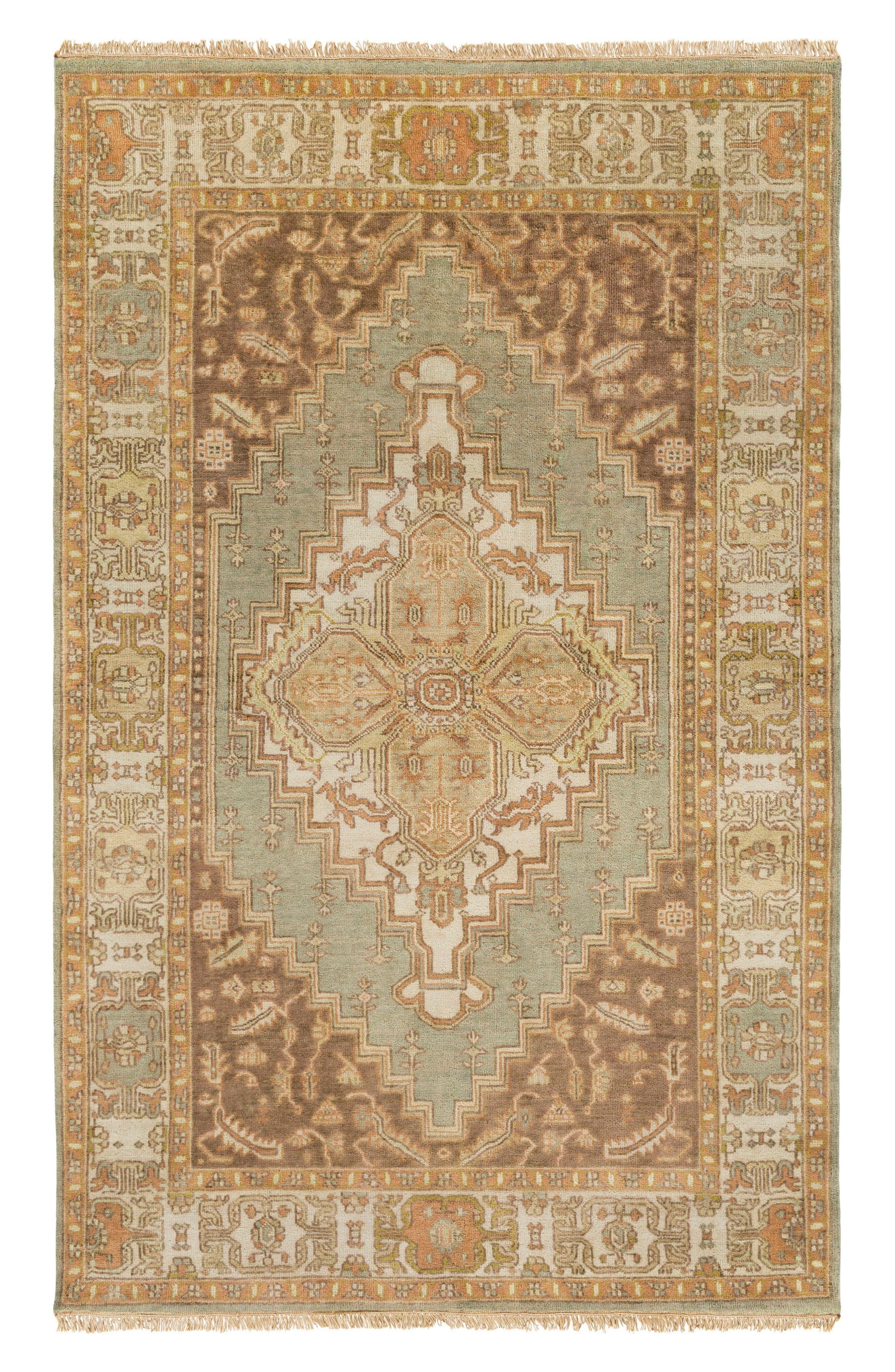 Zeus Traditional Rug,                         Main,                         color, Camel/ Moss