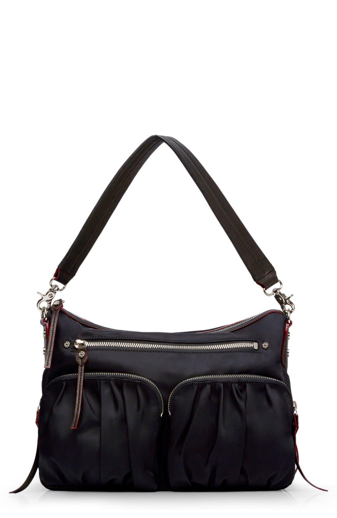 Alternate Image 1 Selected - MZ Wallace 'Hayley' Bedford Nylon Handbag