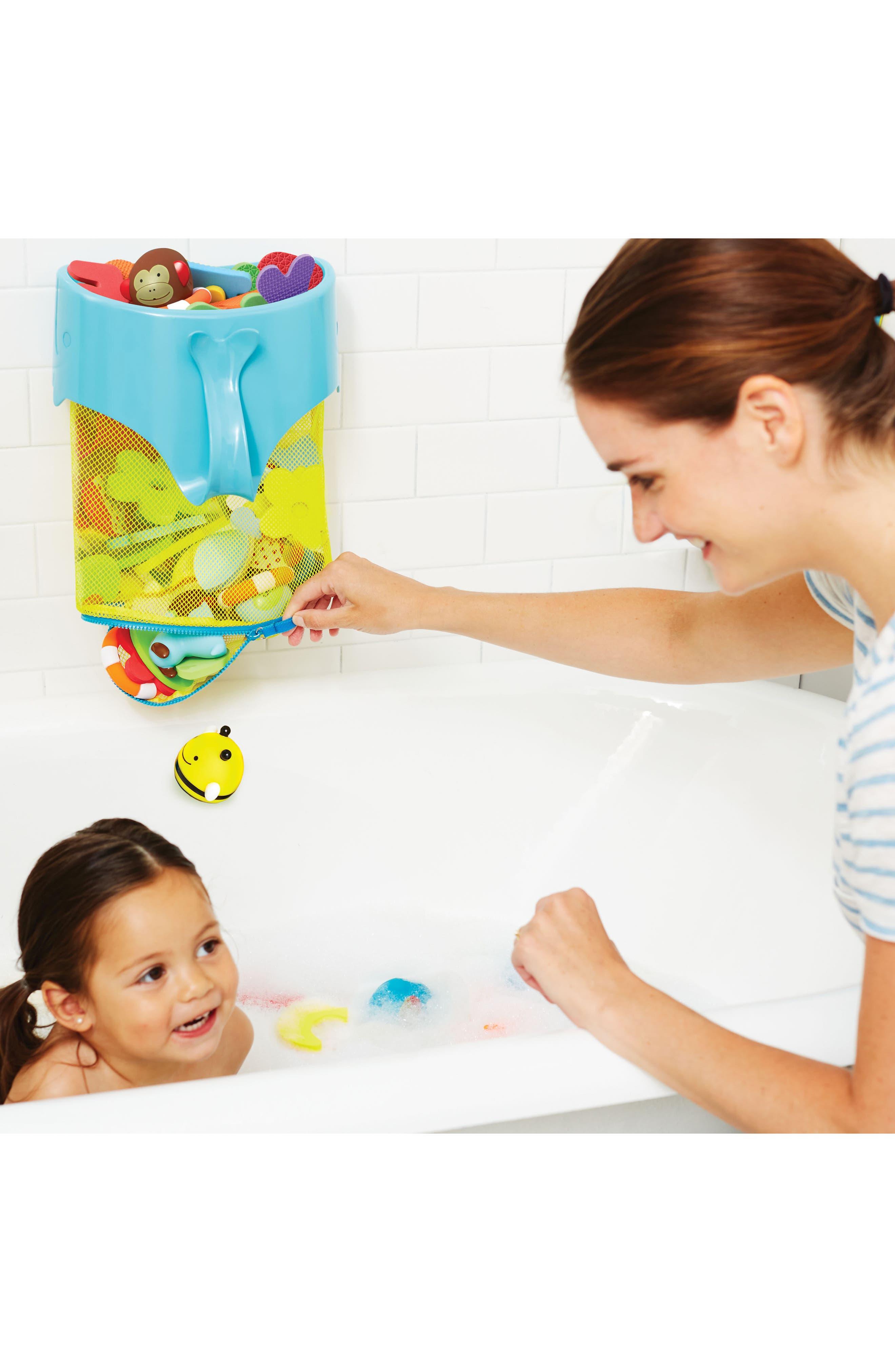 Alternate Image 2  - Skip Hop Moby Scoop & Splash Bath Toy Organizer