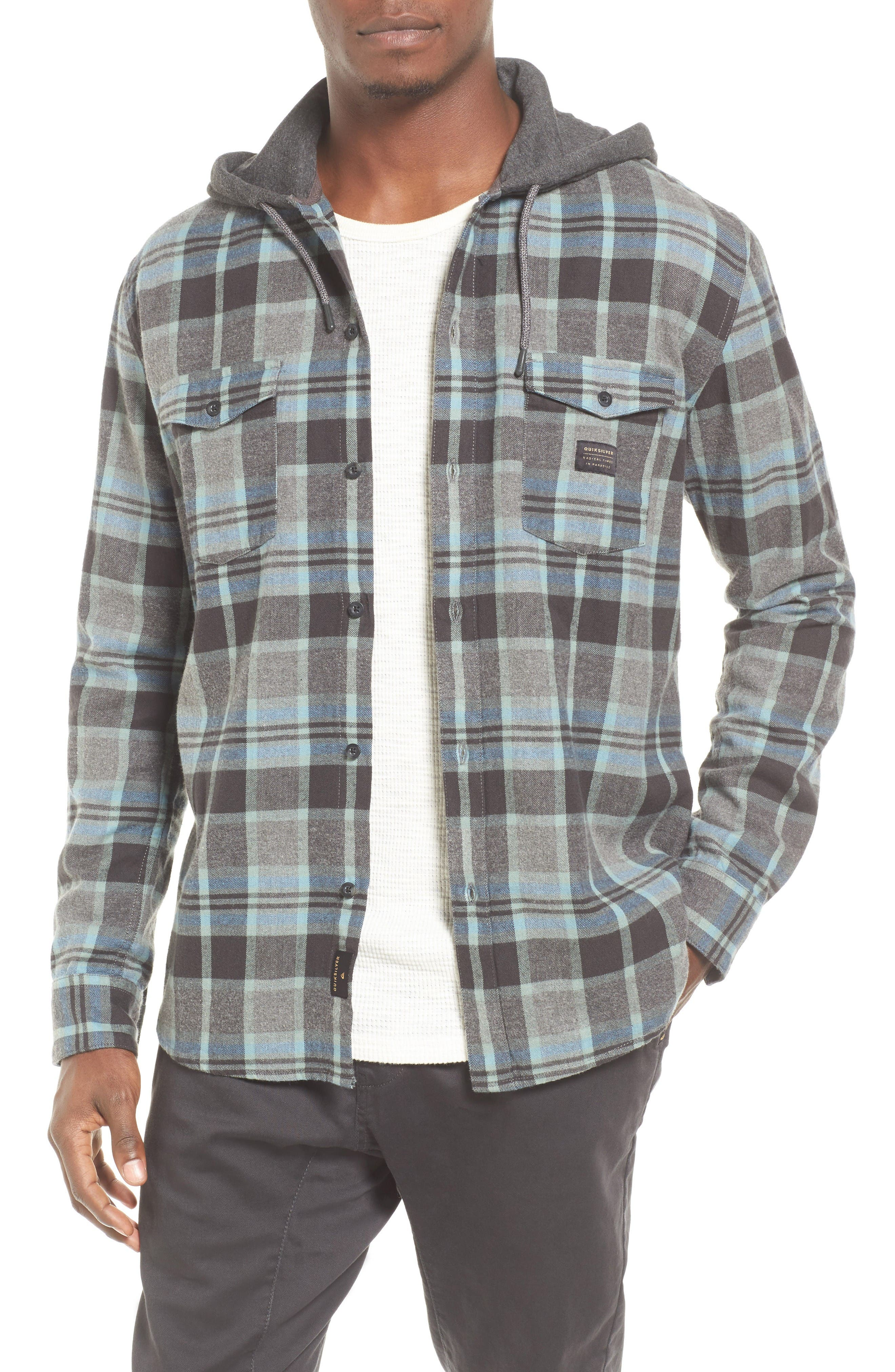 Quiksilver Fellow Player Hooded Shirt