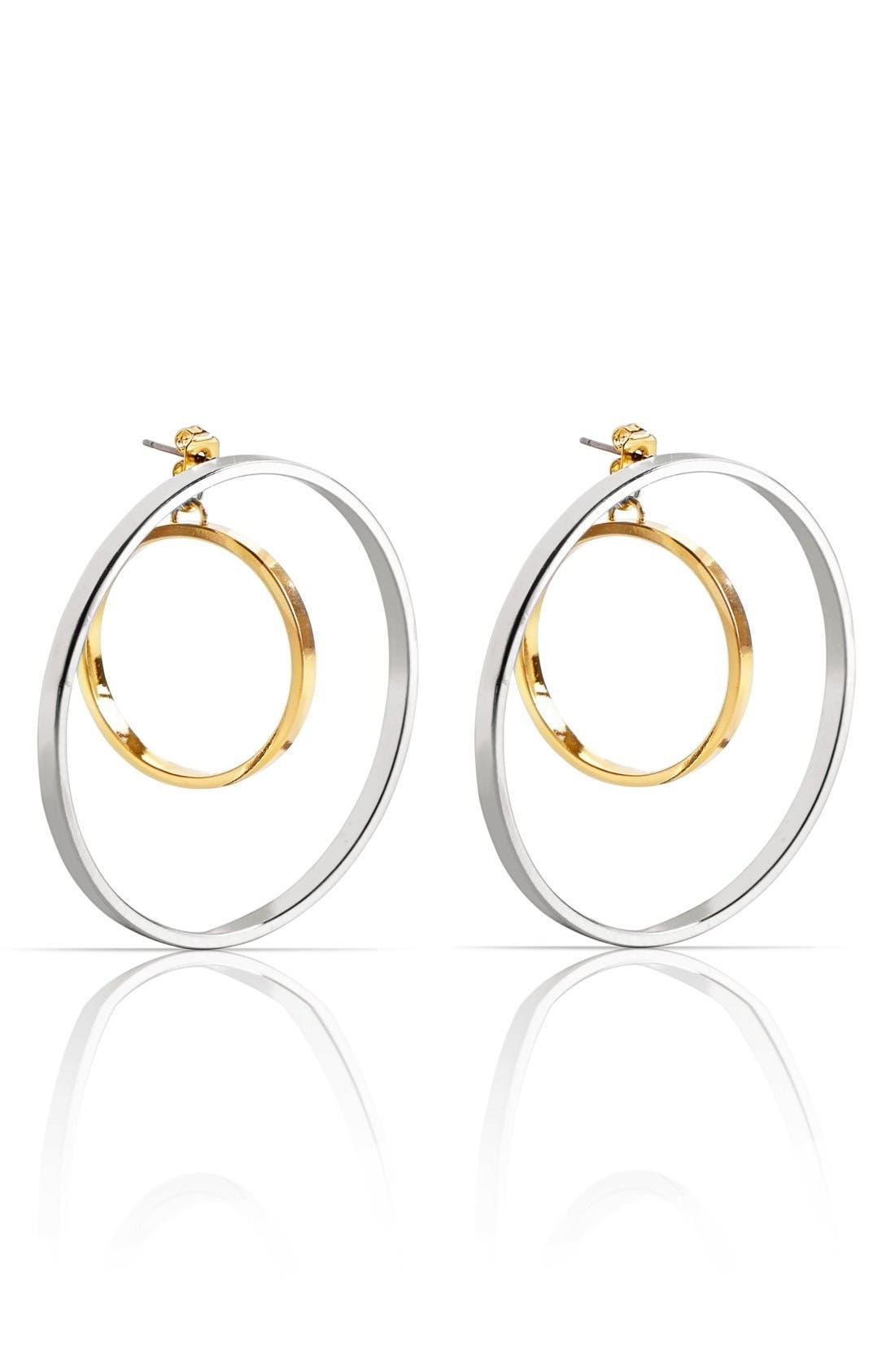 Main Image - Jenny Bird Rise Hoop Earrings
