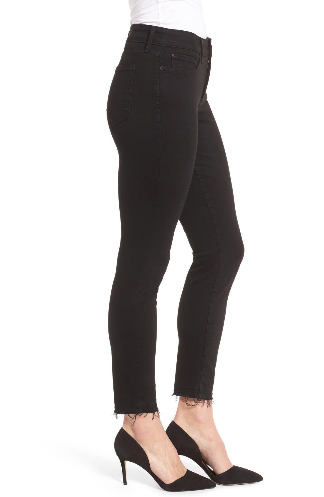 Alternate Image 3  - NYDJ Ami Release Hem Stretch Skinny Jeans (Regular & Petite)