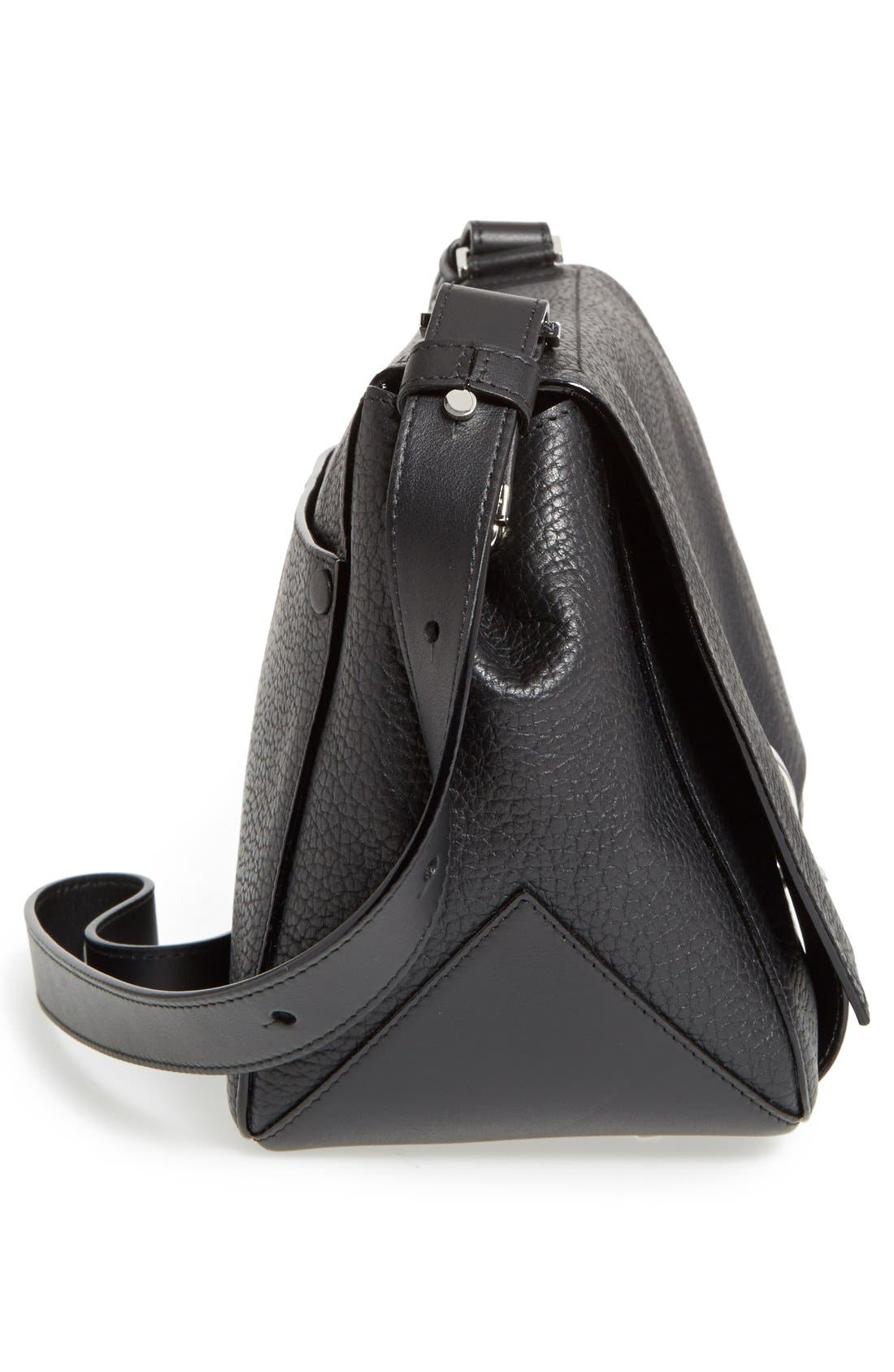 Alternate Image 4  - Proenza Schouler 'Courier' Pebbled Leather Crossbody Bag