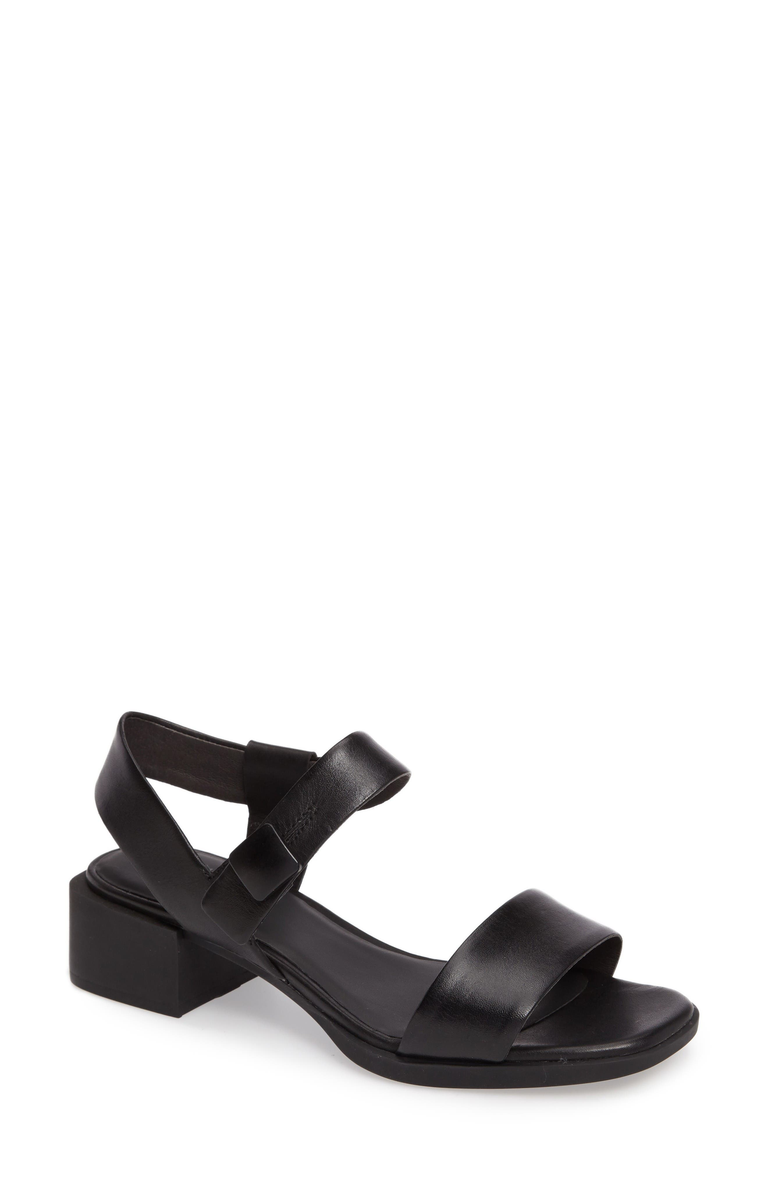 Alternate Image 1 Selected - Camper Kobo Slingback Square Toe Sandal (Women)