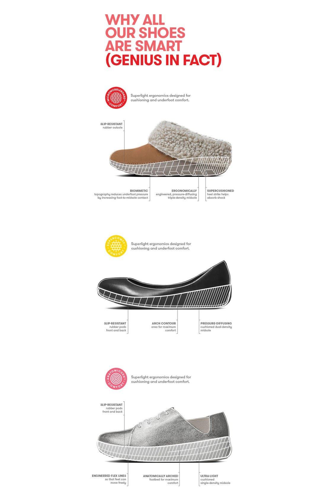 Alternate Image 5  - FitFlop™ Fino Flip Flop Sandal (Women)