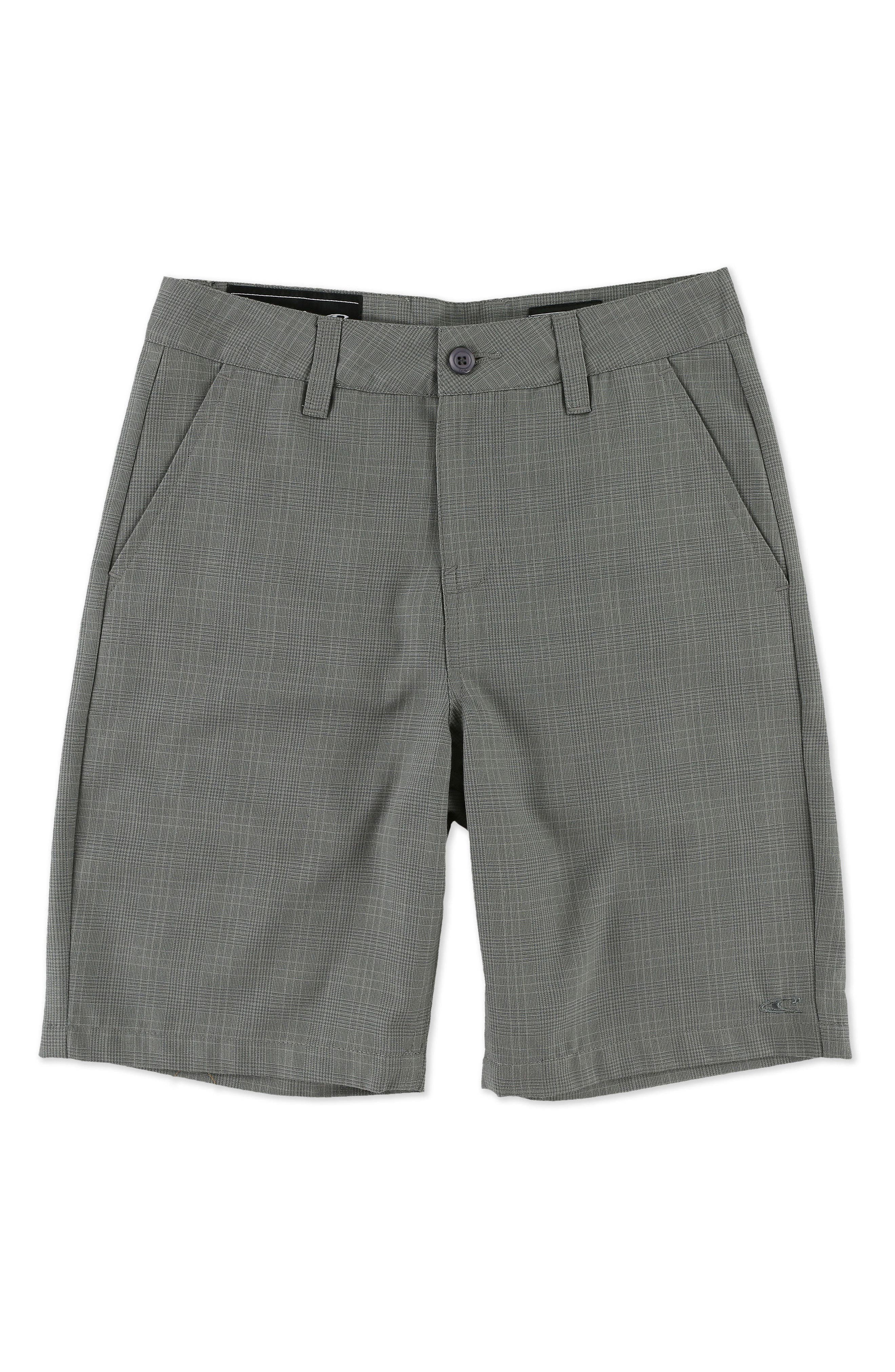 Main Image - O'Neill Delta Plaid Chino Shorts (Little Boys)
