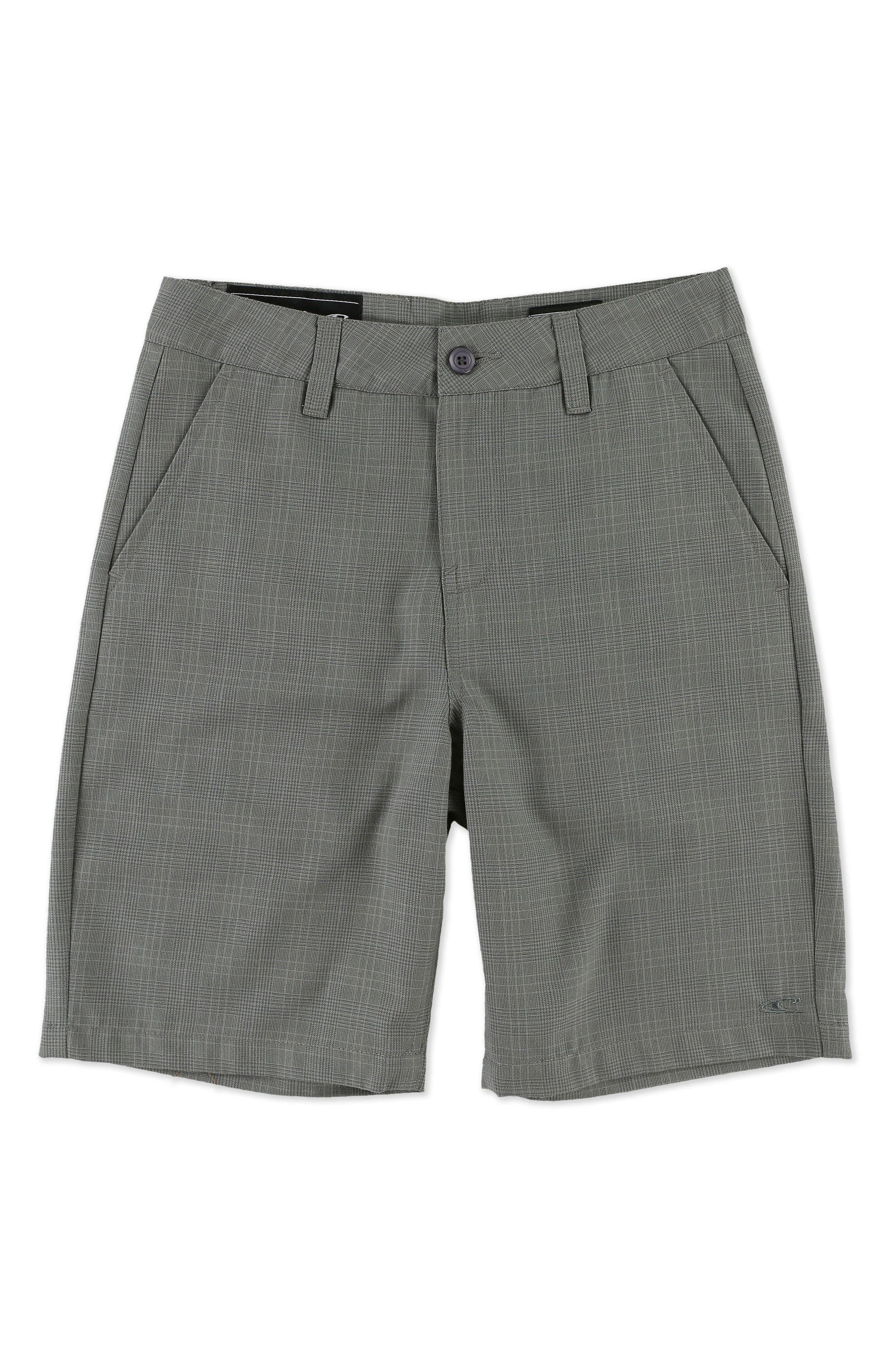 O'Neill Delta Plaid Chino Shorts (Little Boys)
