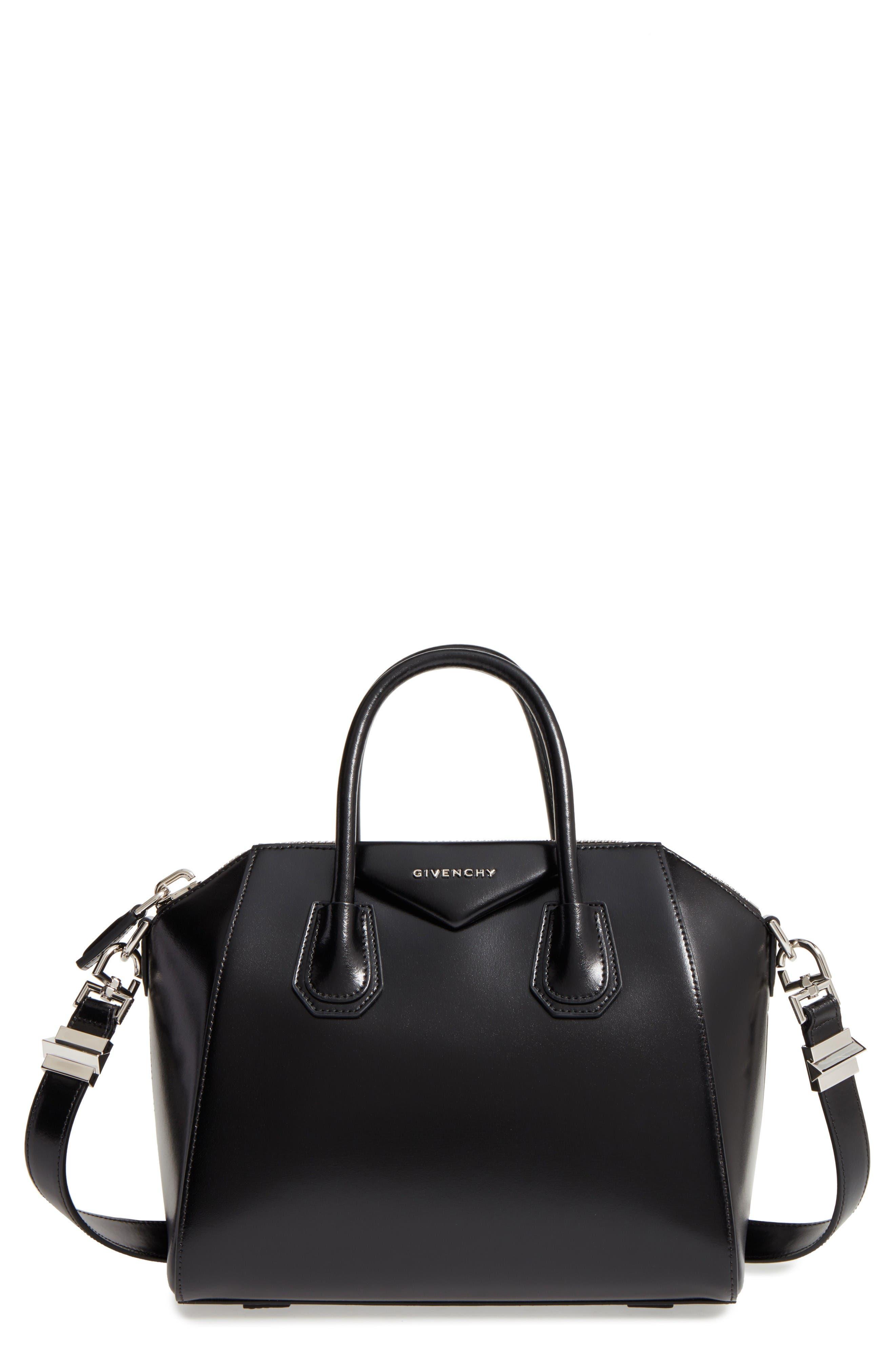 Alternate Image 1 Selected - Givenchy Small Antigona Box Leather Satchel