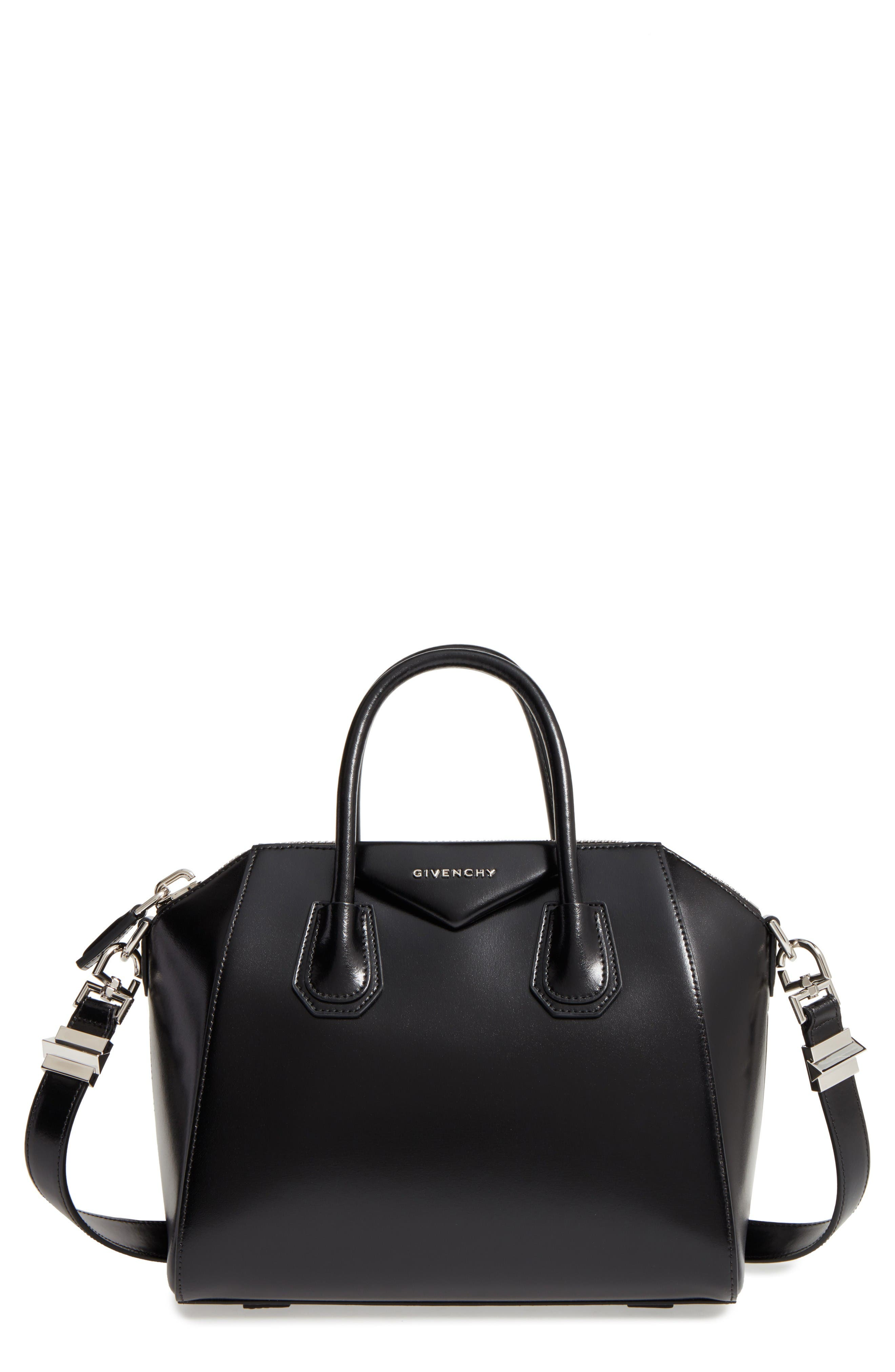 Main Image - Givenchy Small Antigona Box Leather Satchel