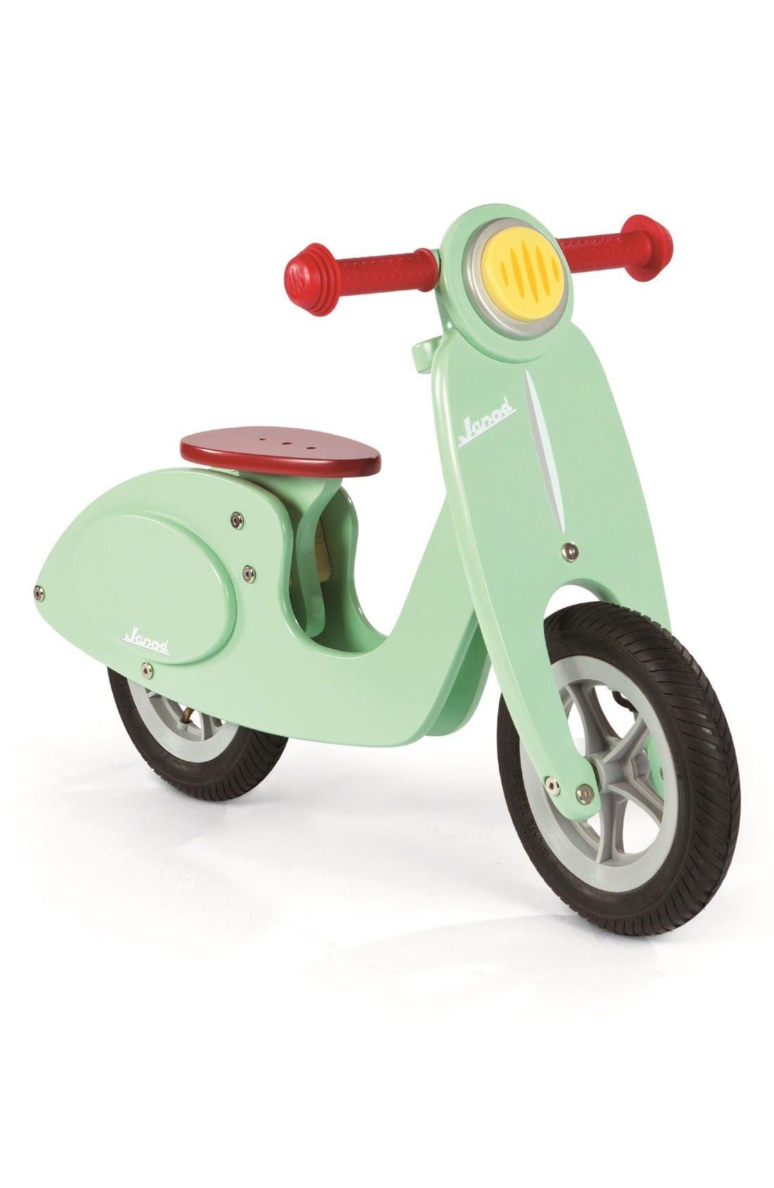 Alternate Image 1 Selected - Janod Mint Balance Scooter Bike