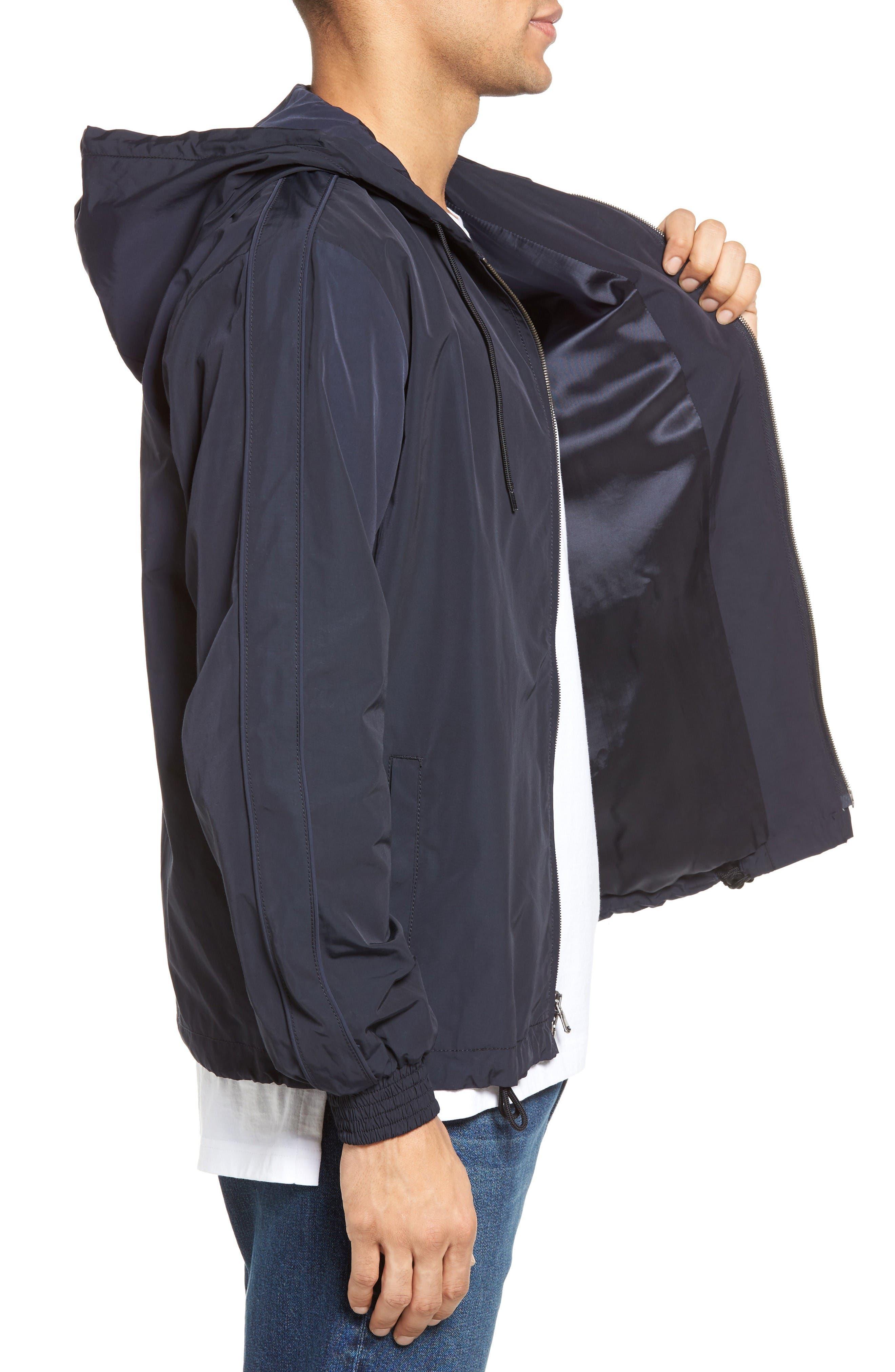 Alternate Image 3  - Vince Hooded Track Jacket