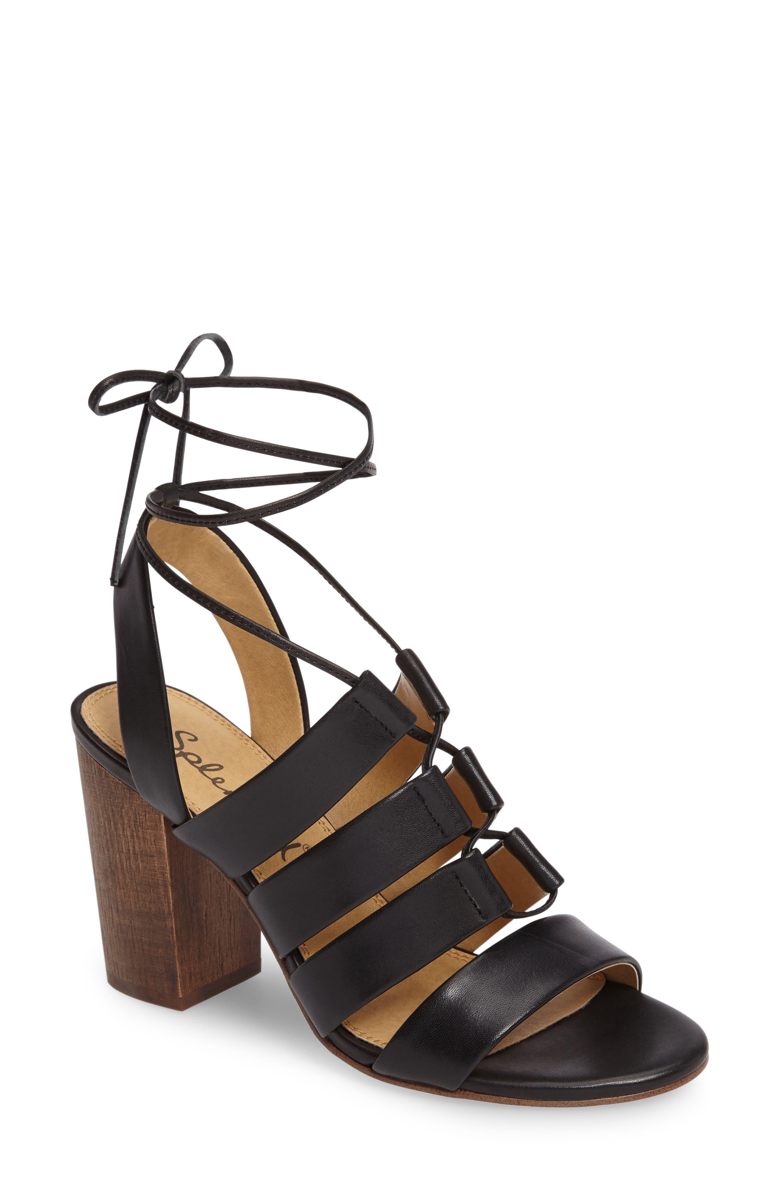Splendid Brayden Strappy Ghillie Lace Sandal (Women)