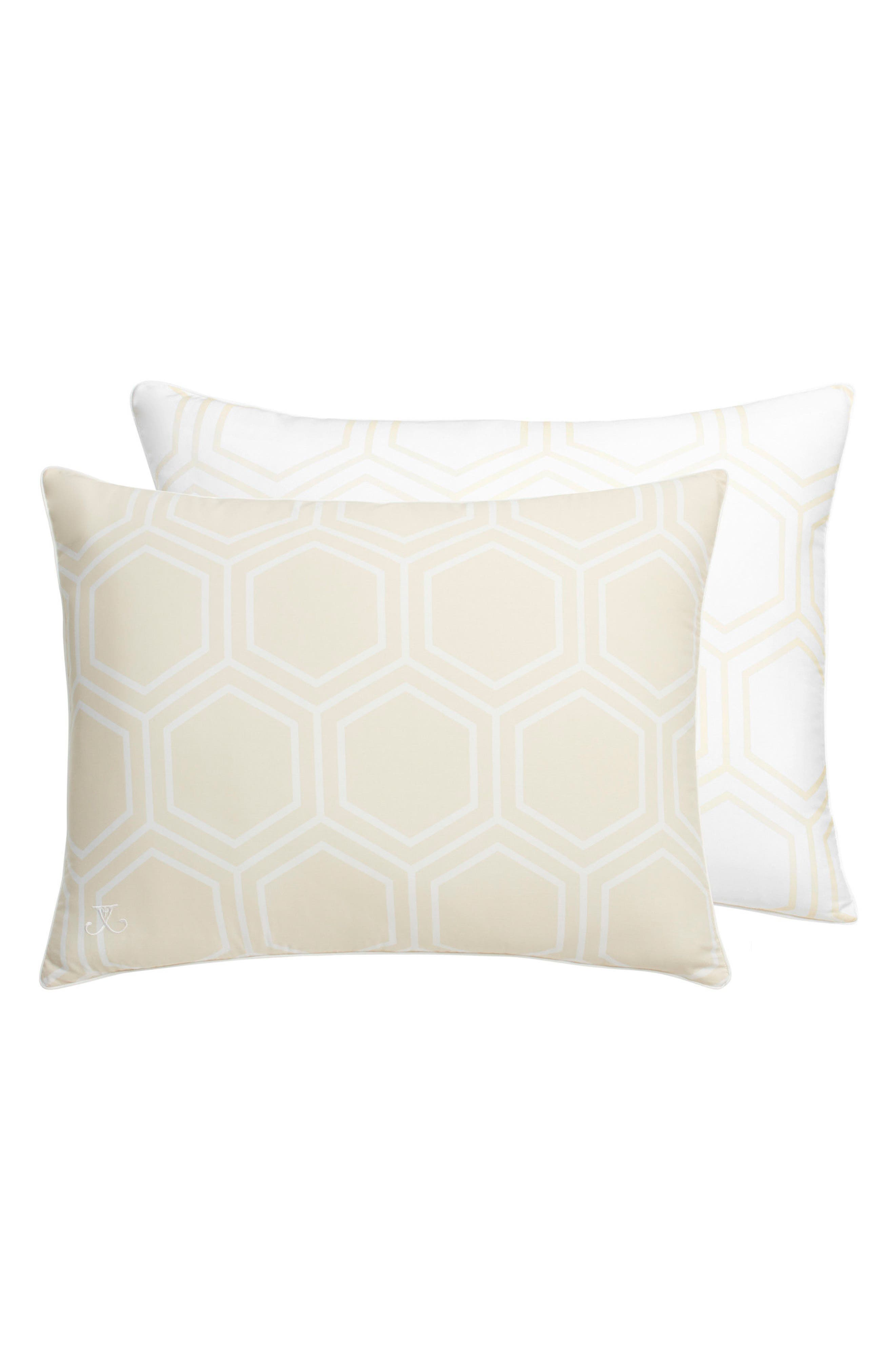 Alternate Image 1 Selected - Jill Rosenwald Blackpoint Hex Standard Sham