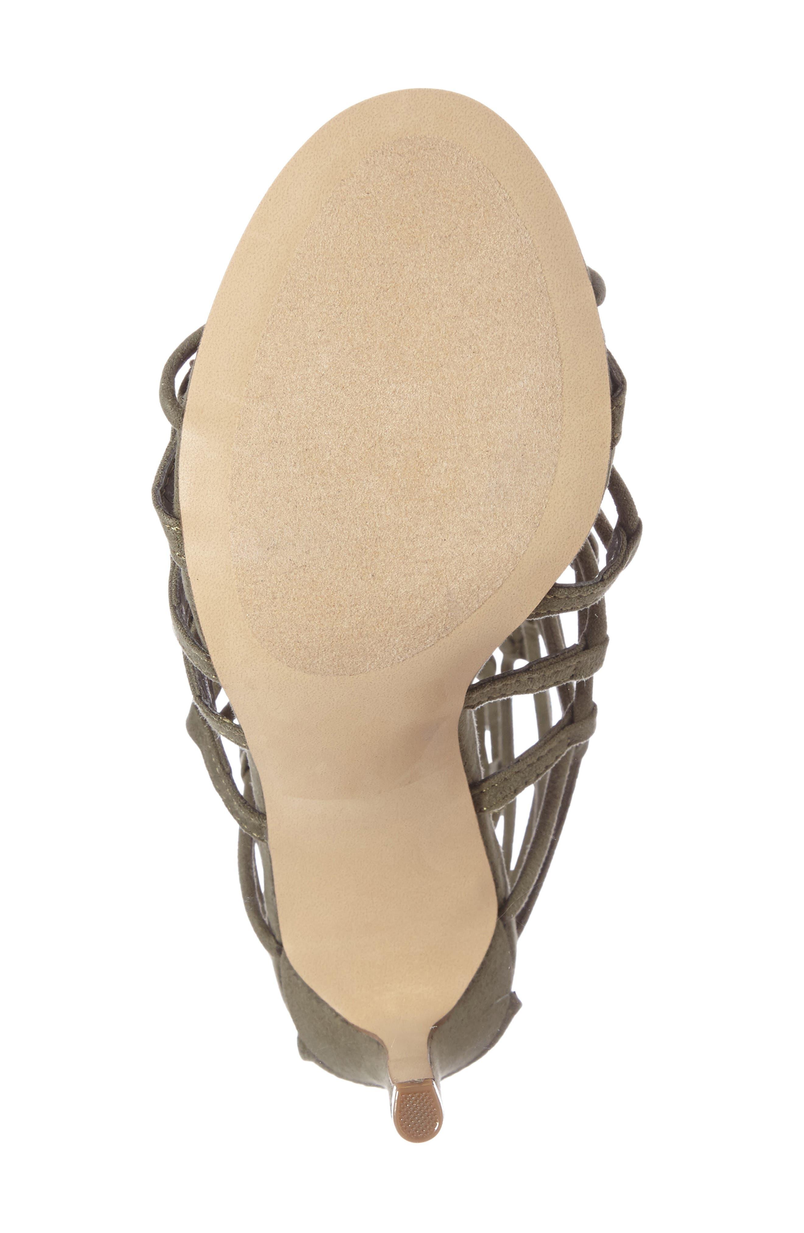 Alternate Image 4  - Steve Madden Mayfair Latticework Tall Sandal (Women)