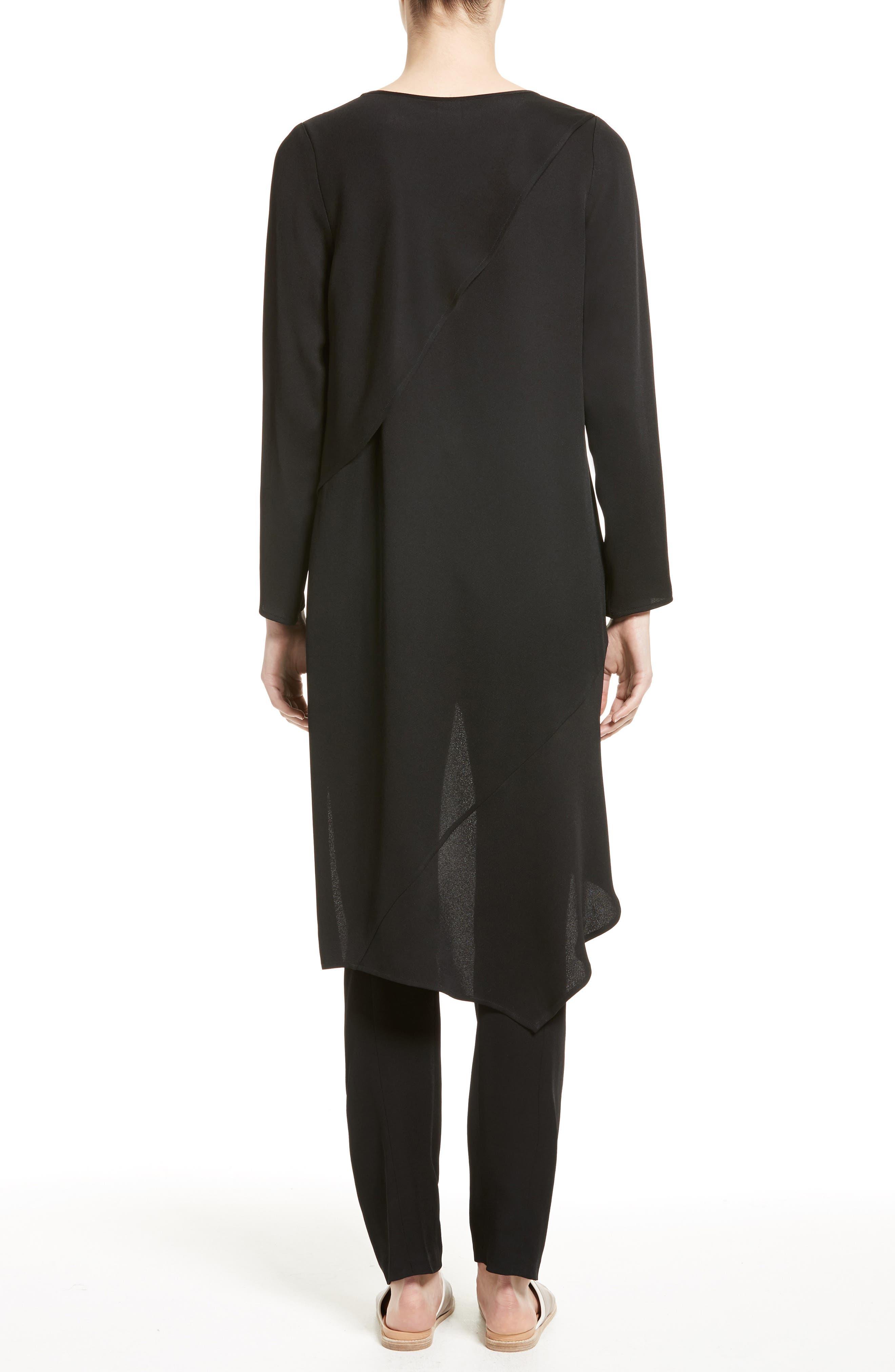 Alternate Image 2  - Zero + Maria Cornejo Heli Asymmetrical Tunic