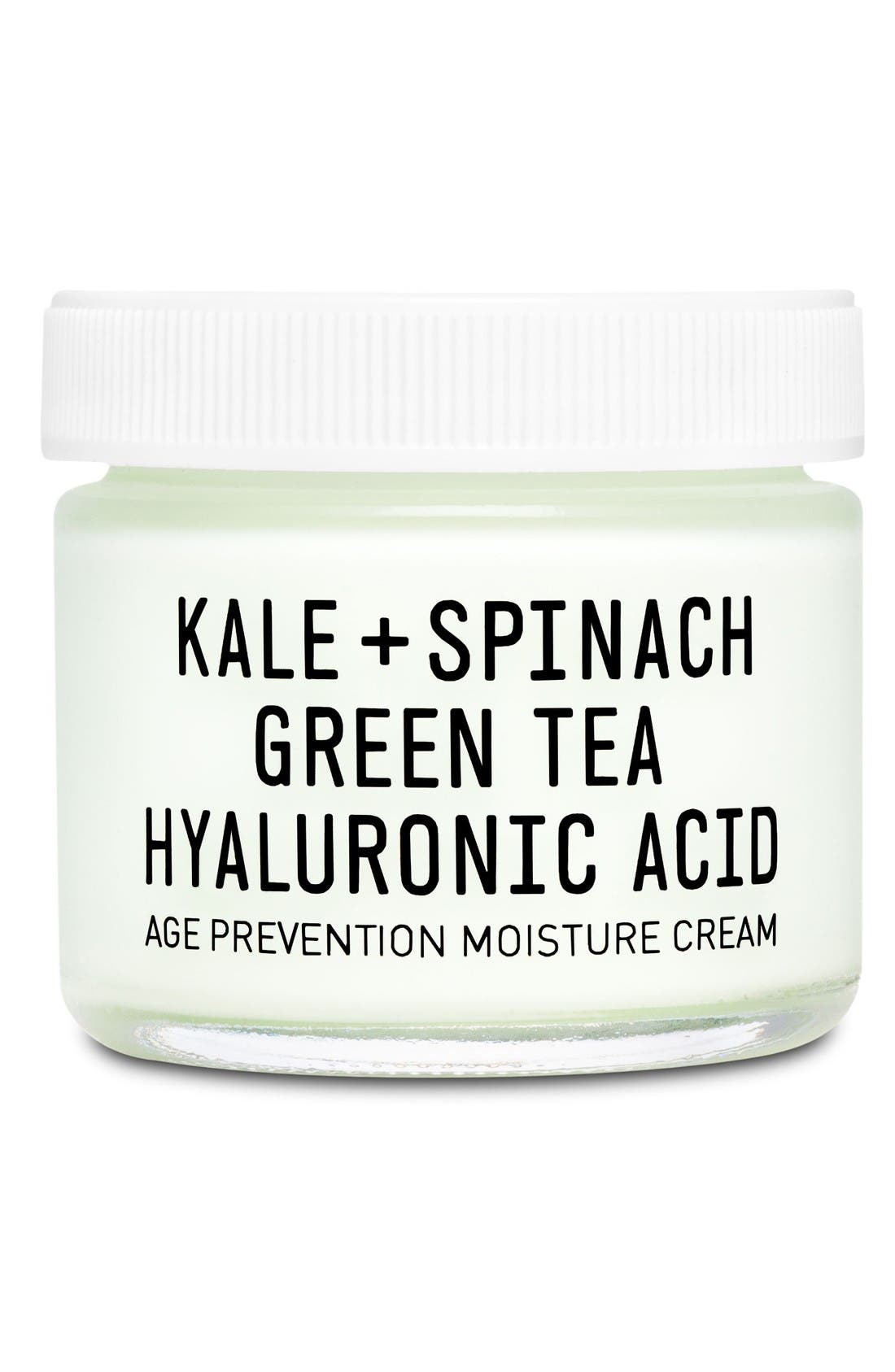 Alternate Image 1 Selected - Youth to the People Kale + Spinach Green Tea Hyaluronic Acid Age Prevention Cream