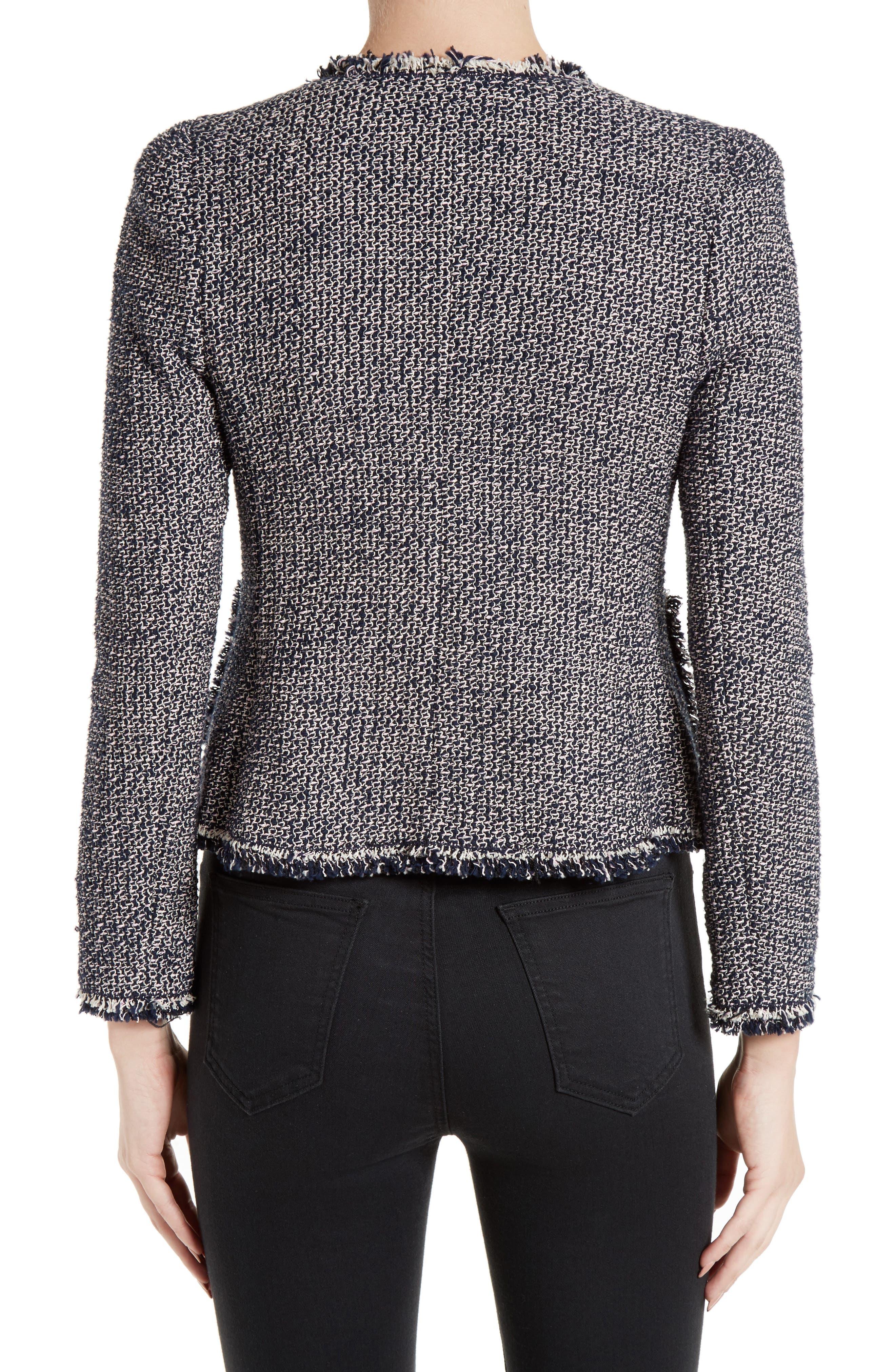 Alternate Image 2  - Rebecca Taylor Confetti Tweed Jacket