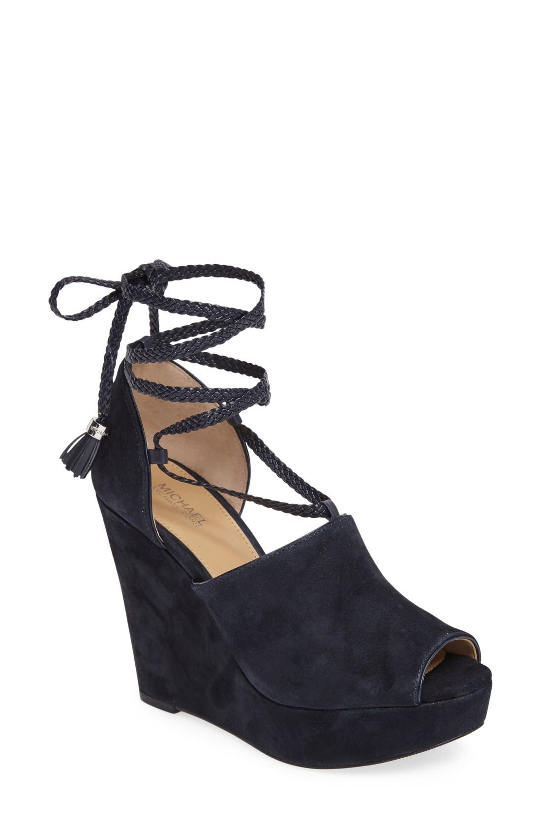 Alternate Image 1 Selected - MICHAEL Michael Kors Hastings Platform Wedge (Women)